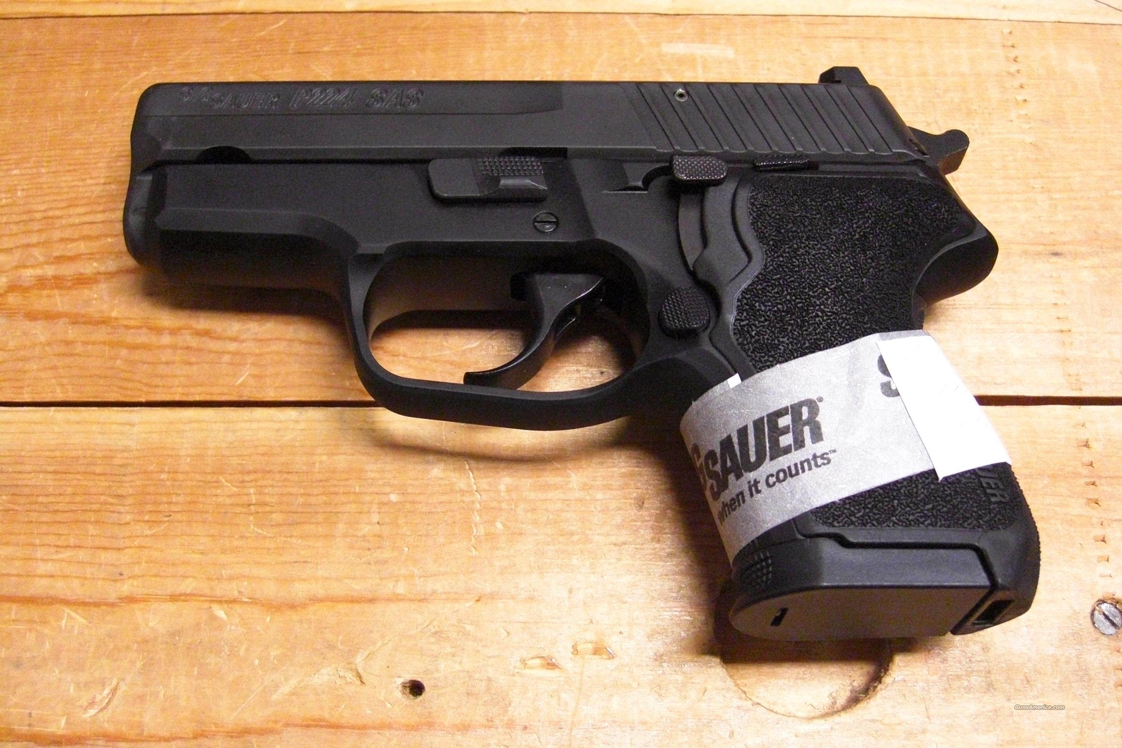 P224 SAS w/night sights  Guns > Pistols > Sig - Sauer/Sigarms Pistols > Other