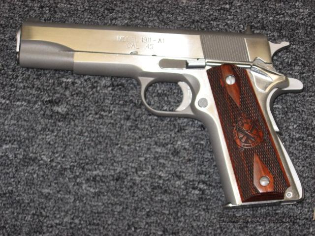 1911-A1 in stainless  Guns > Pistols > Springfield Armory Pistols > 1911 Type