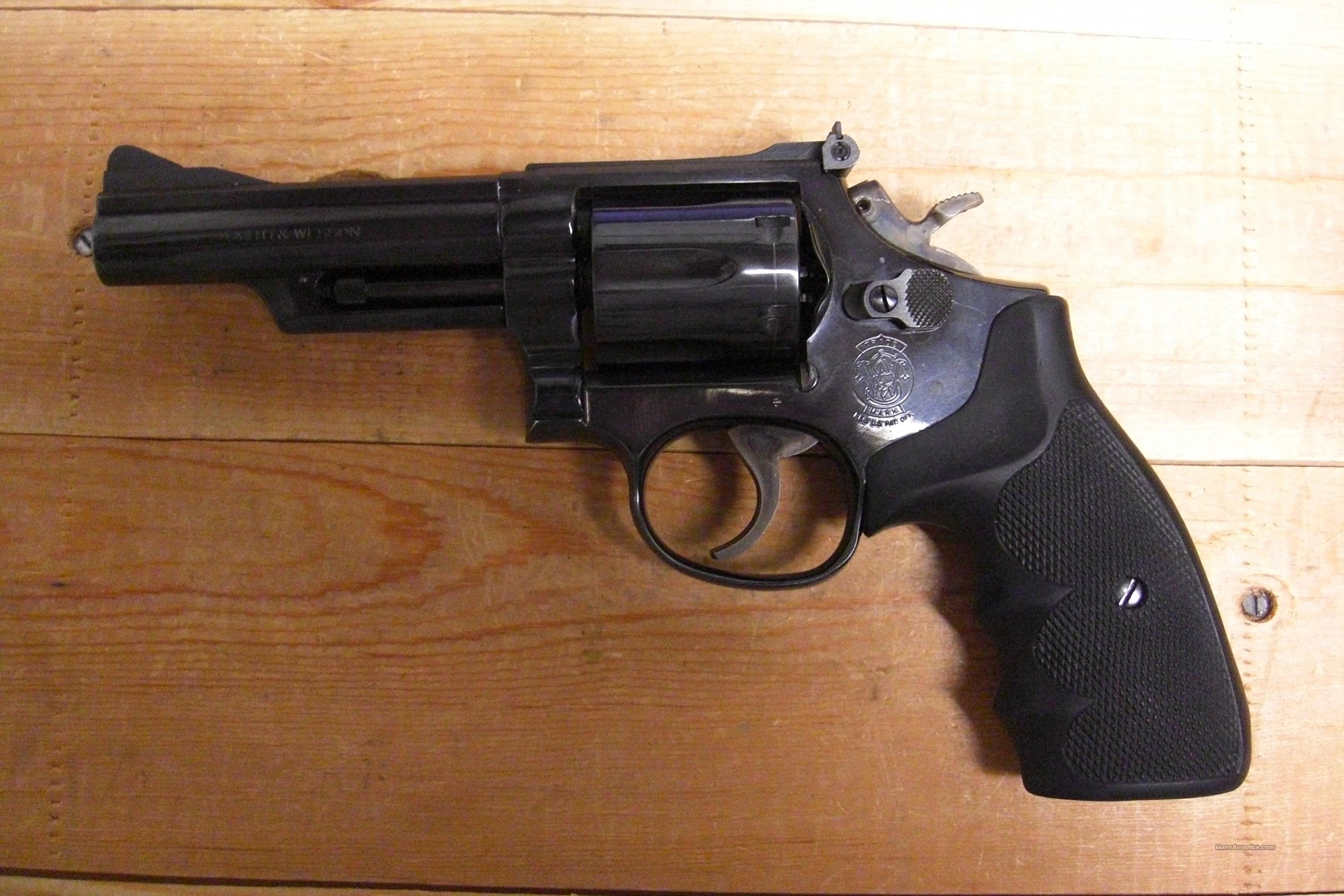 19-5 w/blued finish  Guns > Pistols > Smith & Wesson Revolvers > Full Frame Revolver