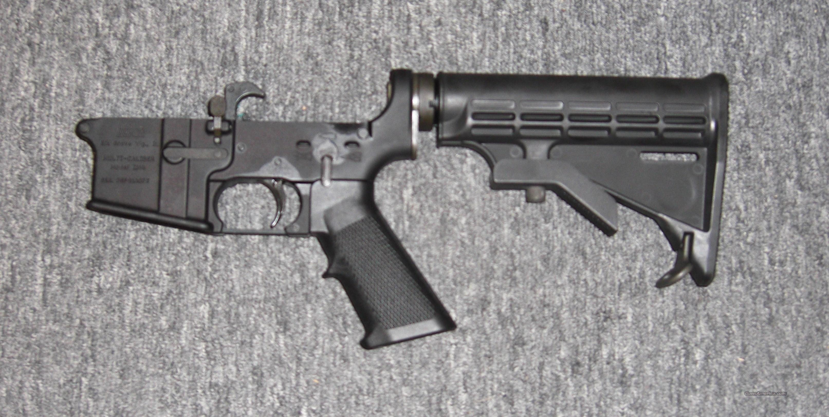DSArms complete lower w/collapsible stock, trigger group  Guns > Rifles > DSA Rifles (DS Arms) > AR-15 type