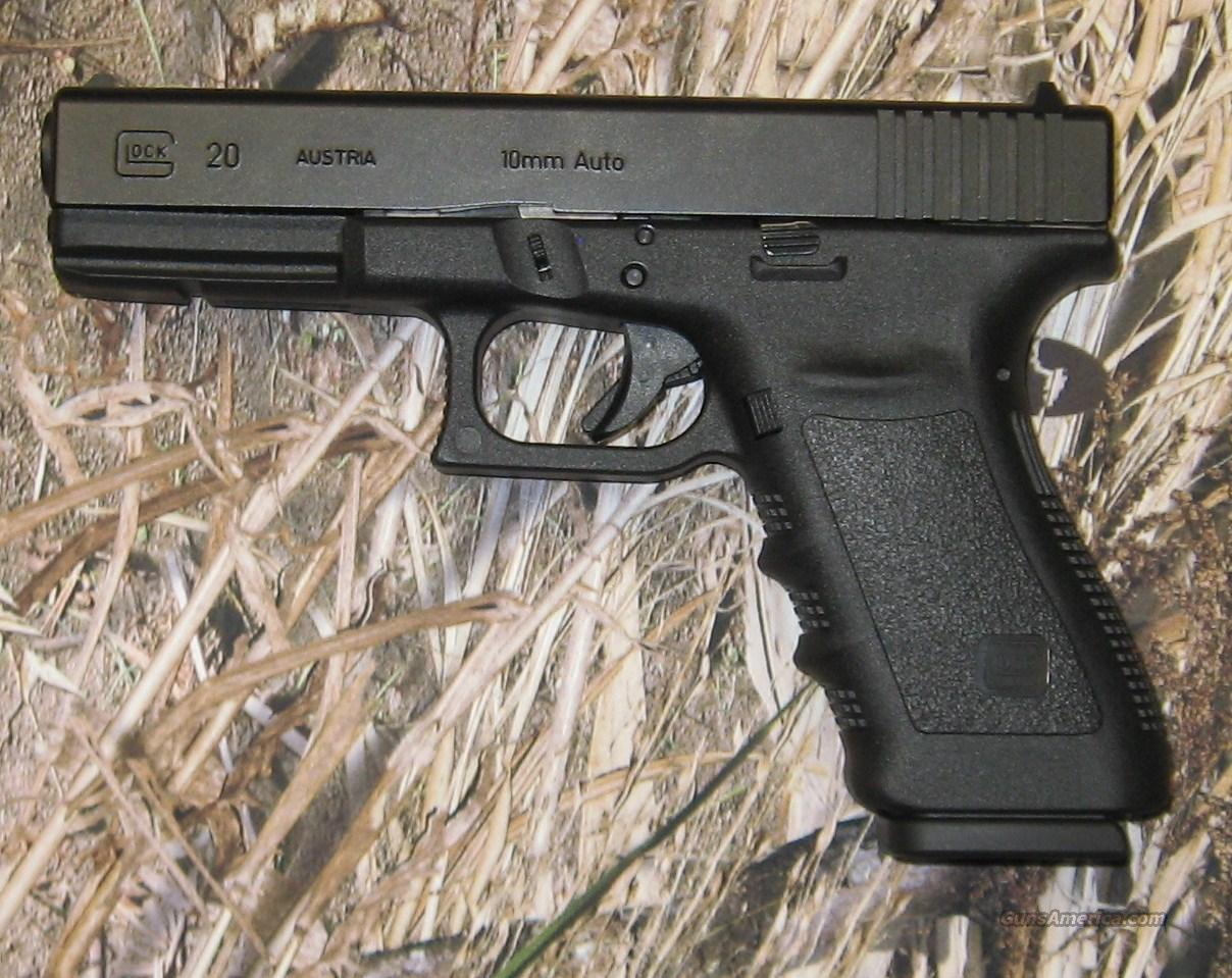 Glock 20 SF 10mm  Guns > Pistols > Glock Pistols > 20/21
