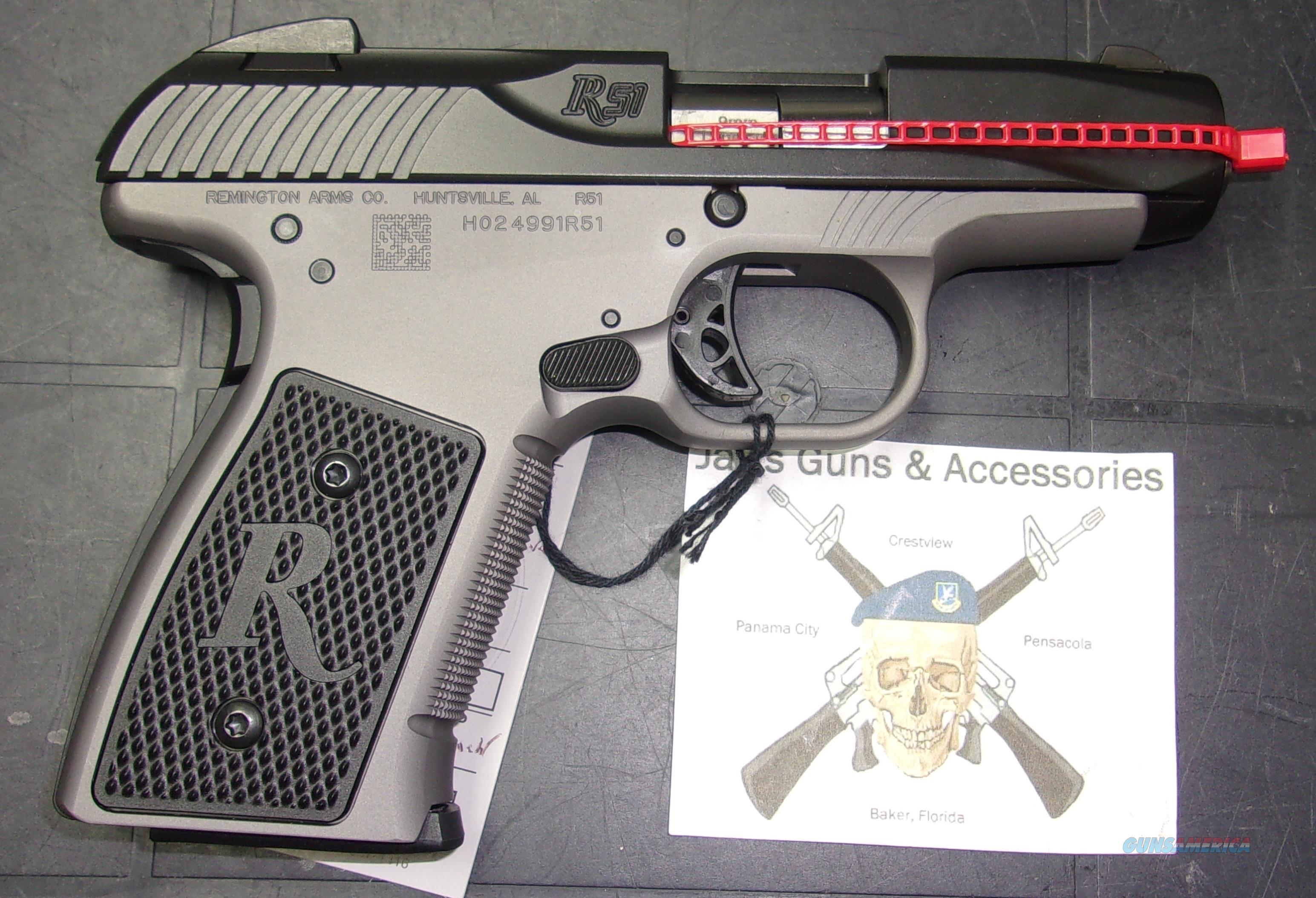 Remington R51 w/Smoke Frame  Guns > Pistols > Remington Pistols - Modern > R51