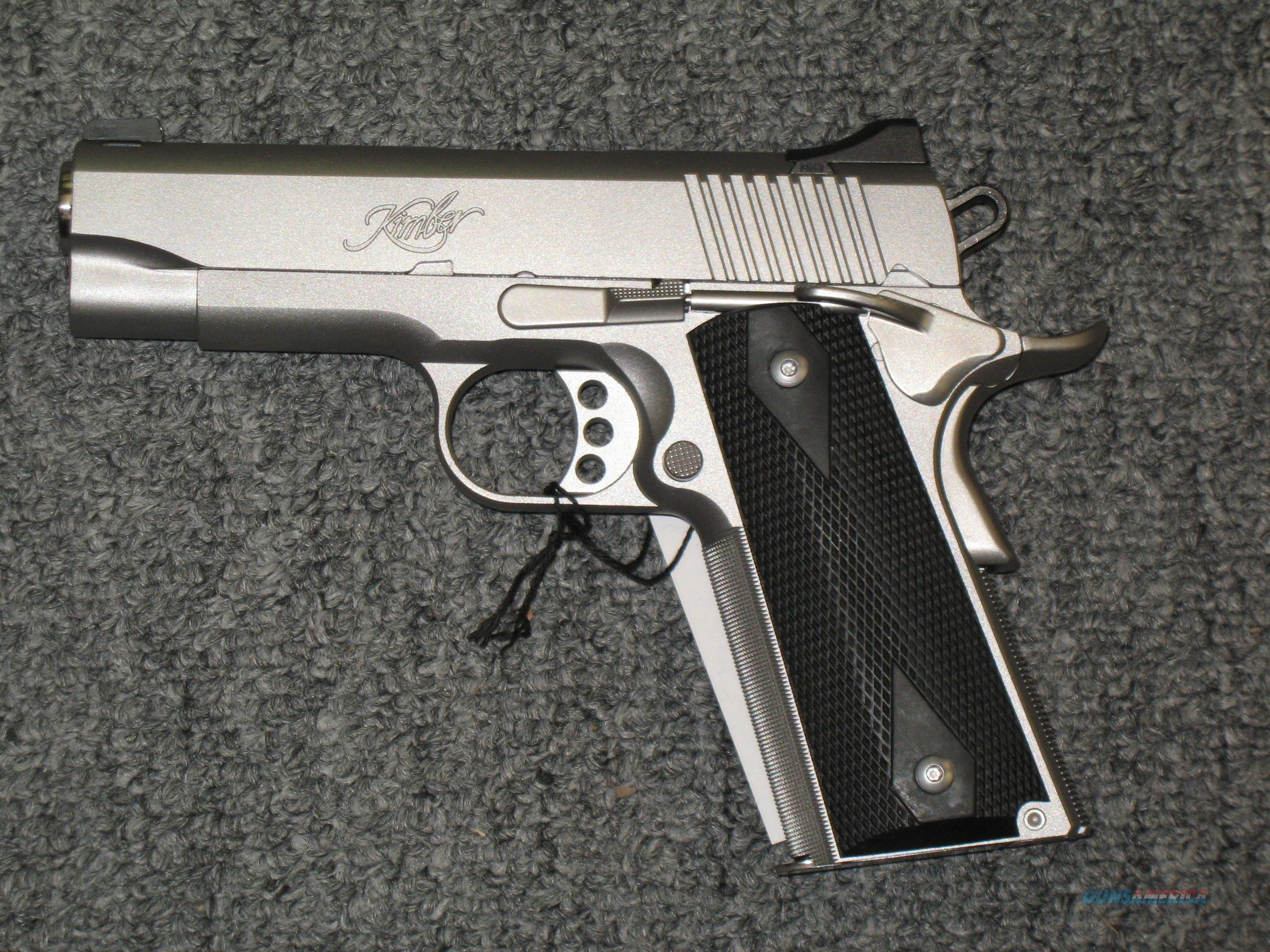 Stainless Pro TLE II w/night sights  Guns > Pistols > Kimber of America Pistols