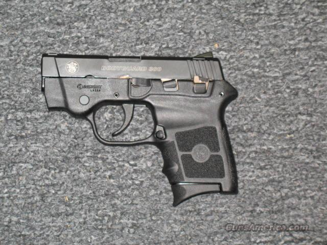 BG380 Black with Red Laser  Guns > Pistols > Smith & Wesson Pistols - Autos > Polymer Frame