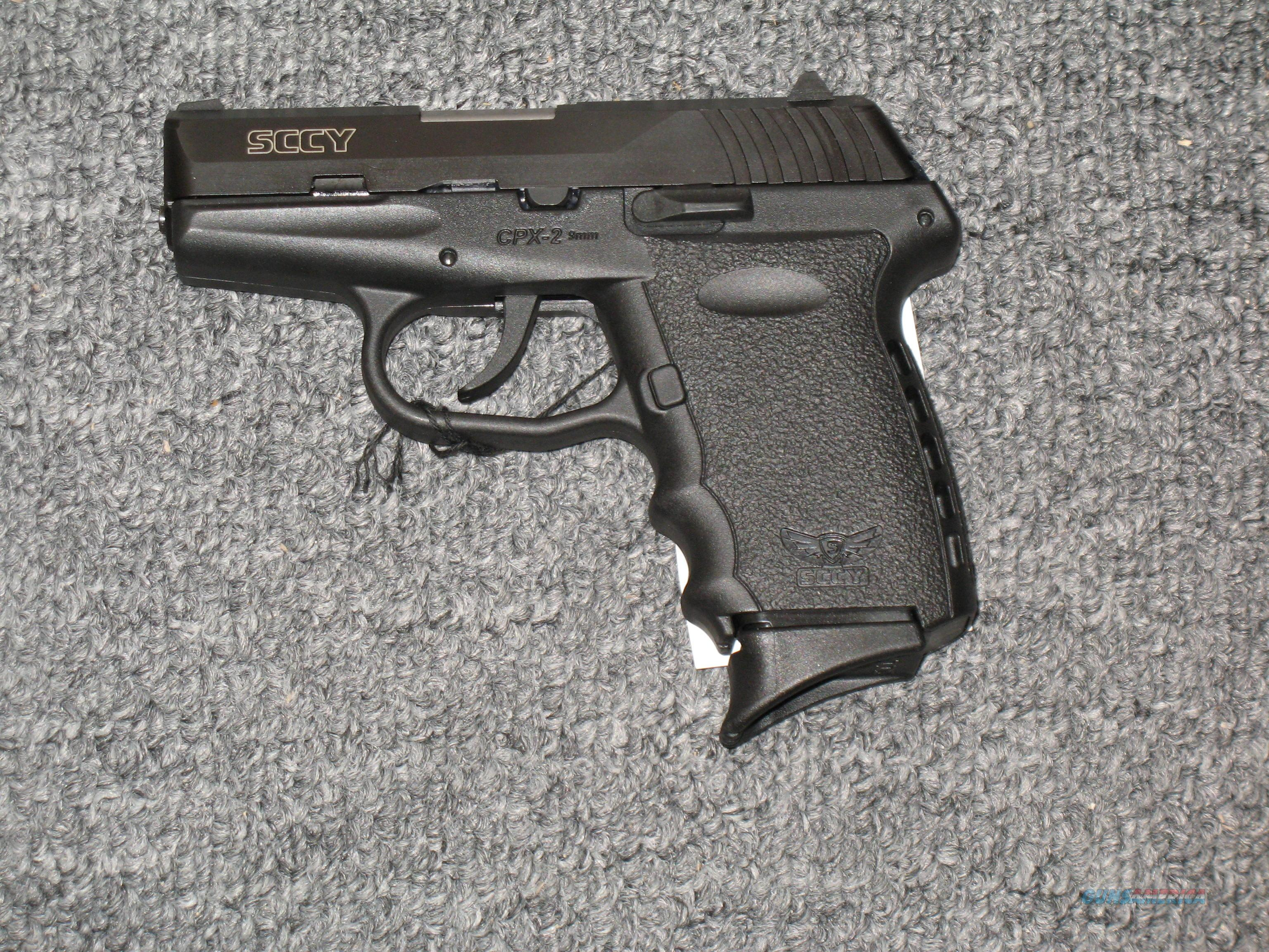 SCCY CPX-2 no safety (all black)  Guns > Pistols > S Misc Pistols