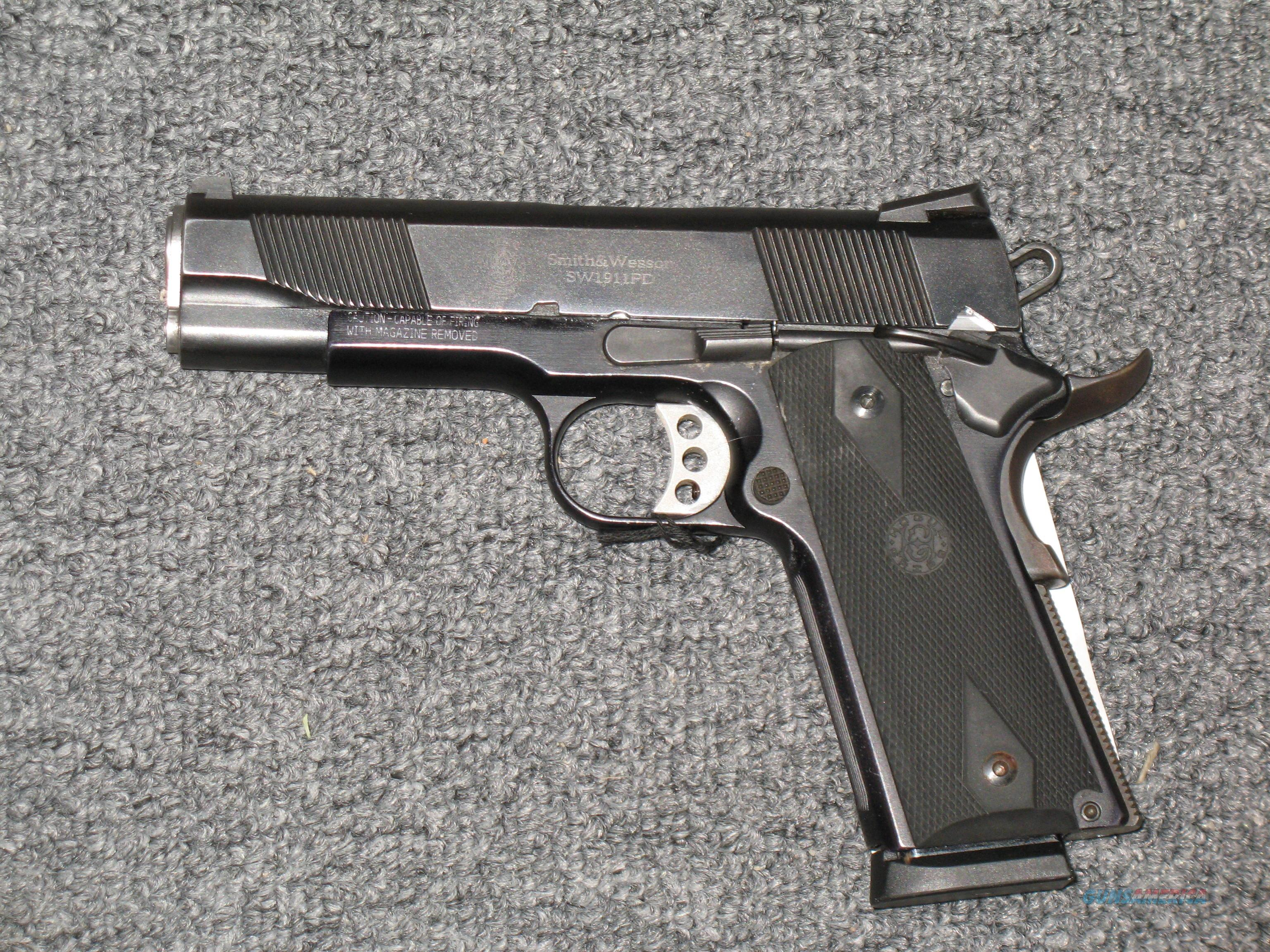 SW1911PD  Guns > Pistols > Smith & Wesson Pistols - Autos > Steel Frame