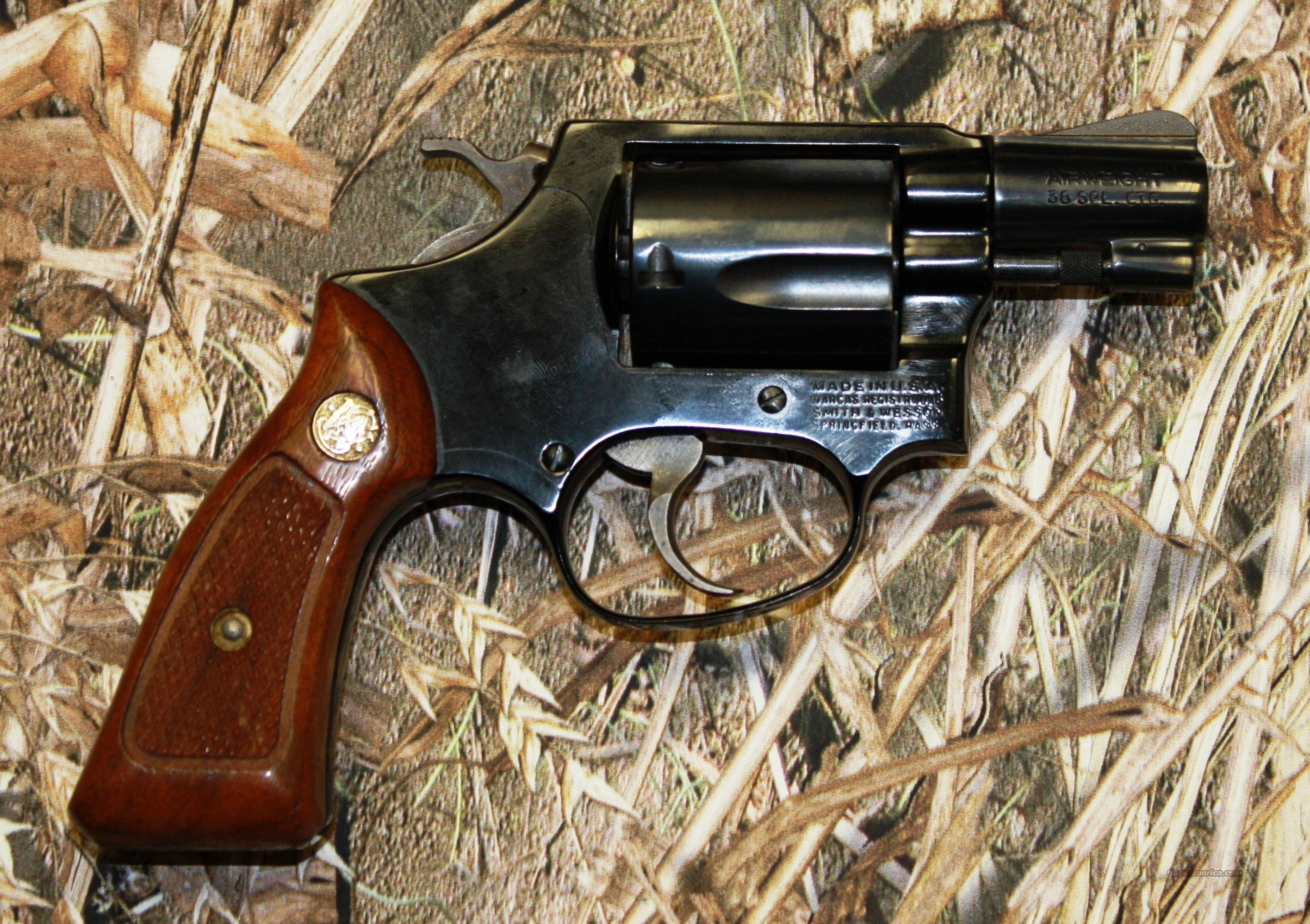 Smith & Wesson 37 Airweight  Guns > Pistols > Smith & Wesson Revolvers > Pocket Pistols