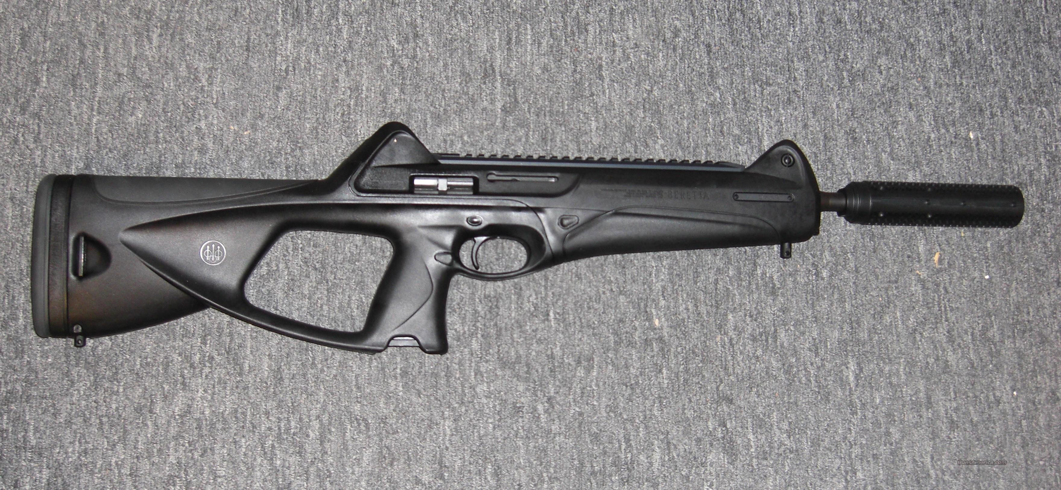 CX4 Storm .45acp  w/fake suppressor  Guns > Rifles > Beretta Rifles > Storm