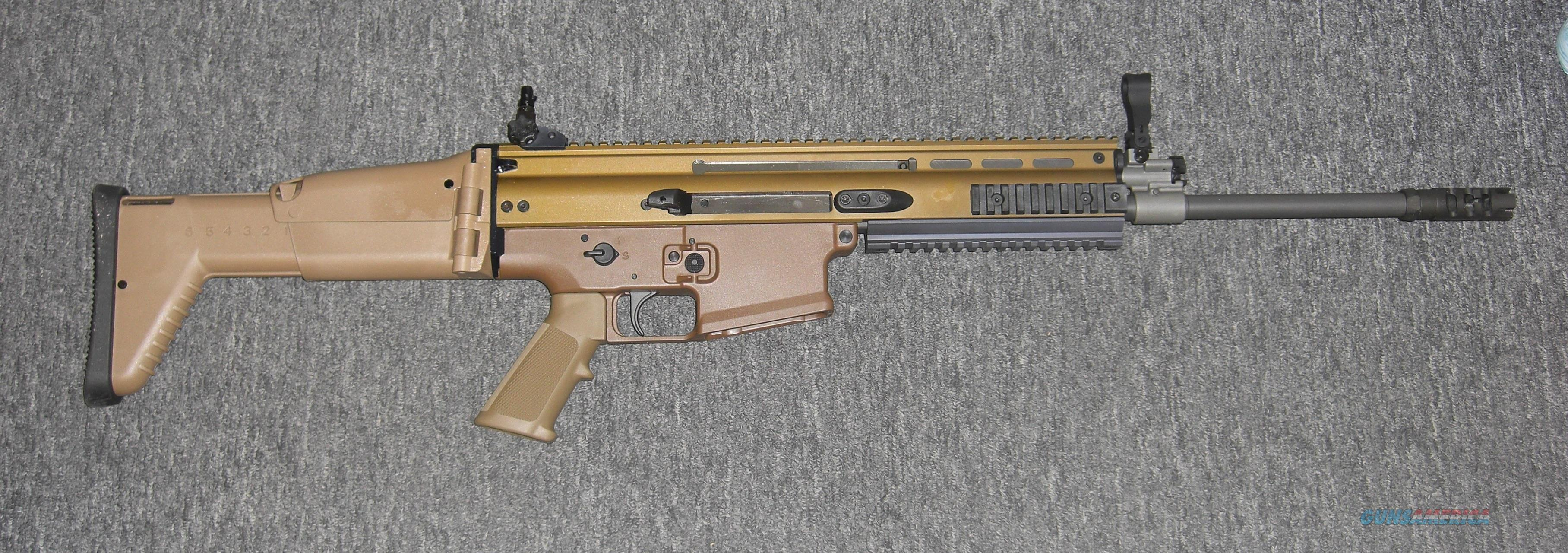 Scar 17s  Flat Dark Earth (.308)  Guns > Rifles > FNH - Fabrique Nationale (FN) Rifles > Semi-auto > Other