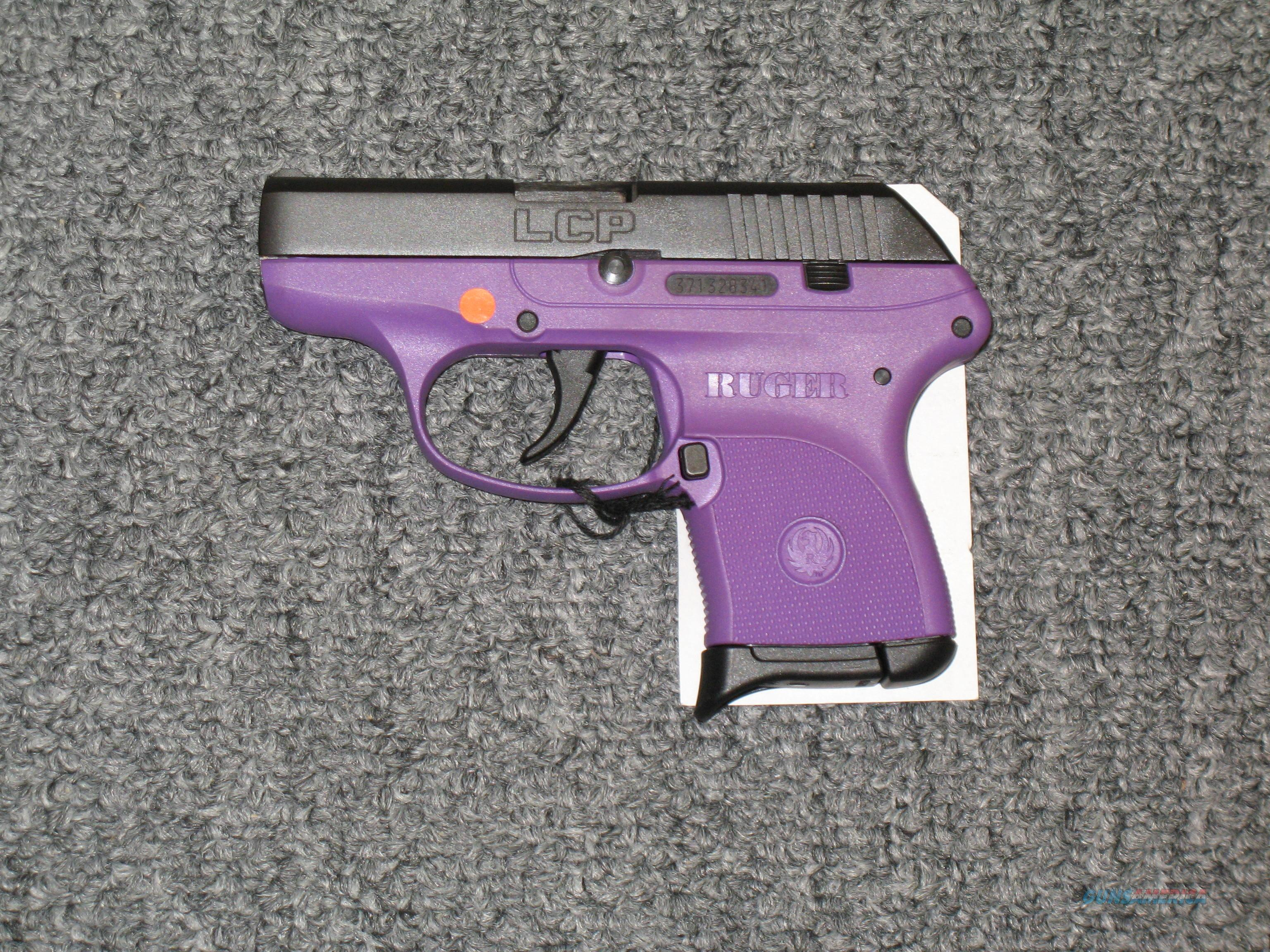 LCP w/purple frame  Guns > Pistols > Ruger Semi-Auto Pistols > LCP
