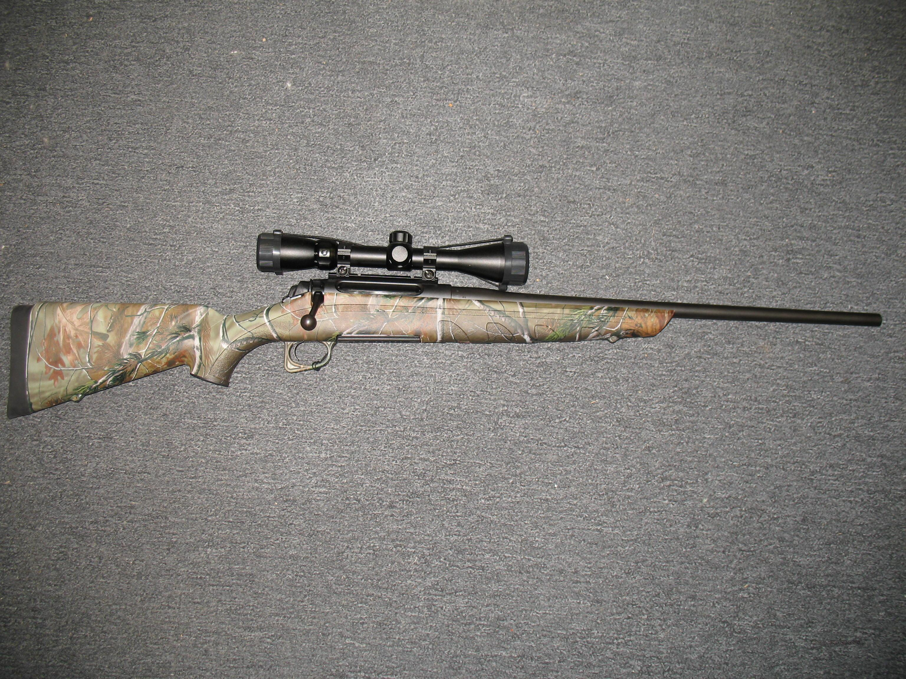 770 White tail Pro w/3-9x40 scope  .30-06 APG Realtree camo  Guns > Rifles > Remington Rifles - Modern > Model 700 > Sporting