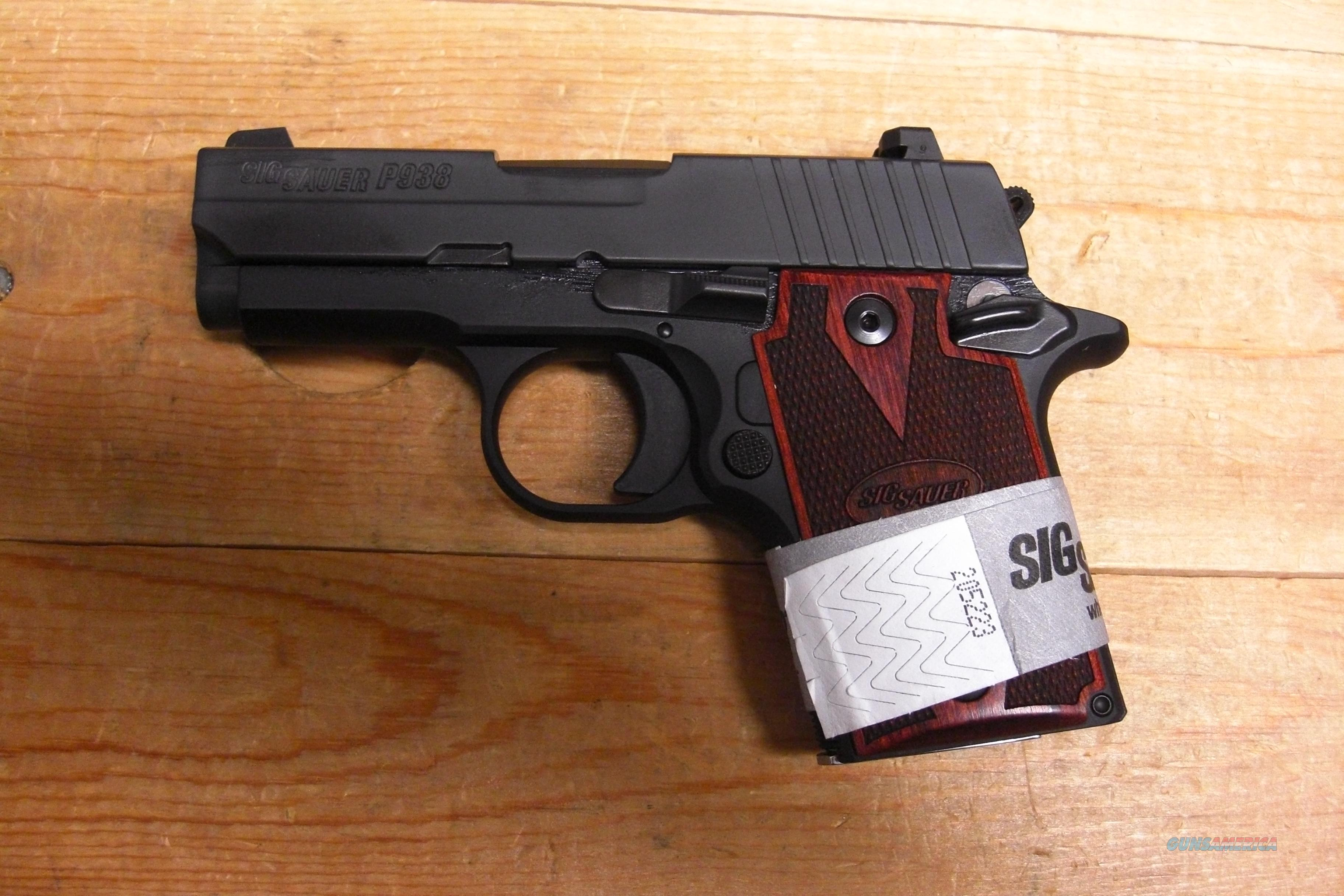 P938 w/night sights  Guns > Pistols > Sig - Sauer/Sigarms Pistols > Other