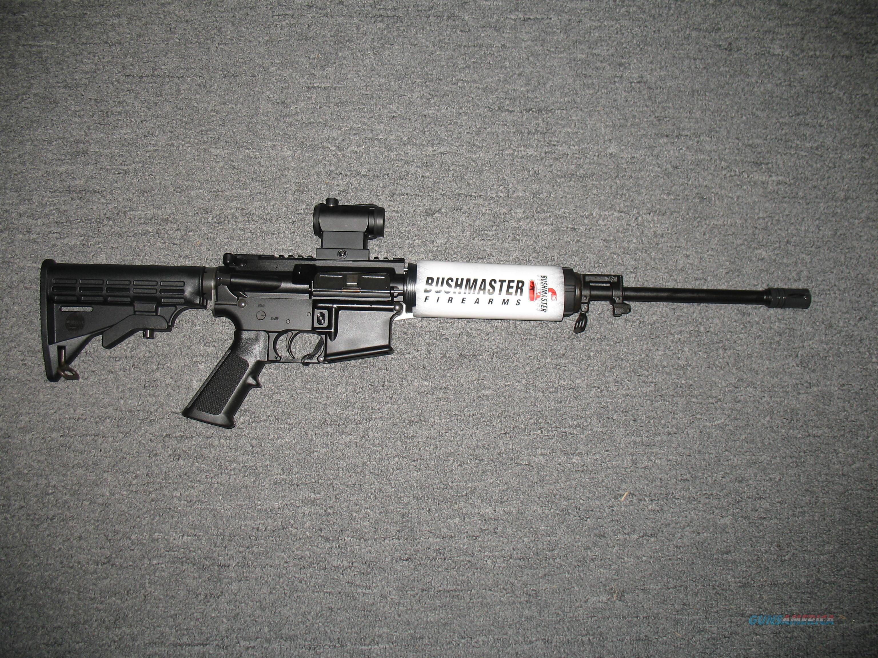 XM15-E2S with Red Dot optic  Guns > Rifles > Bushmaster Rifles > Complete Rifles