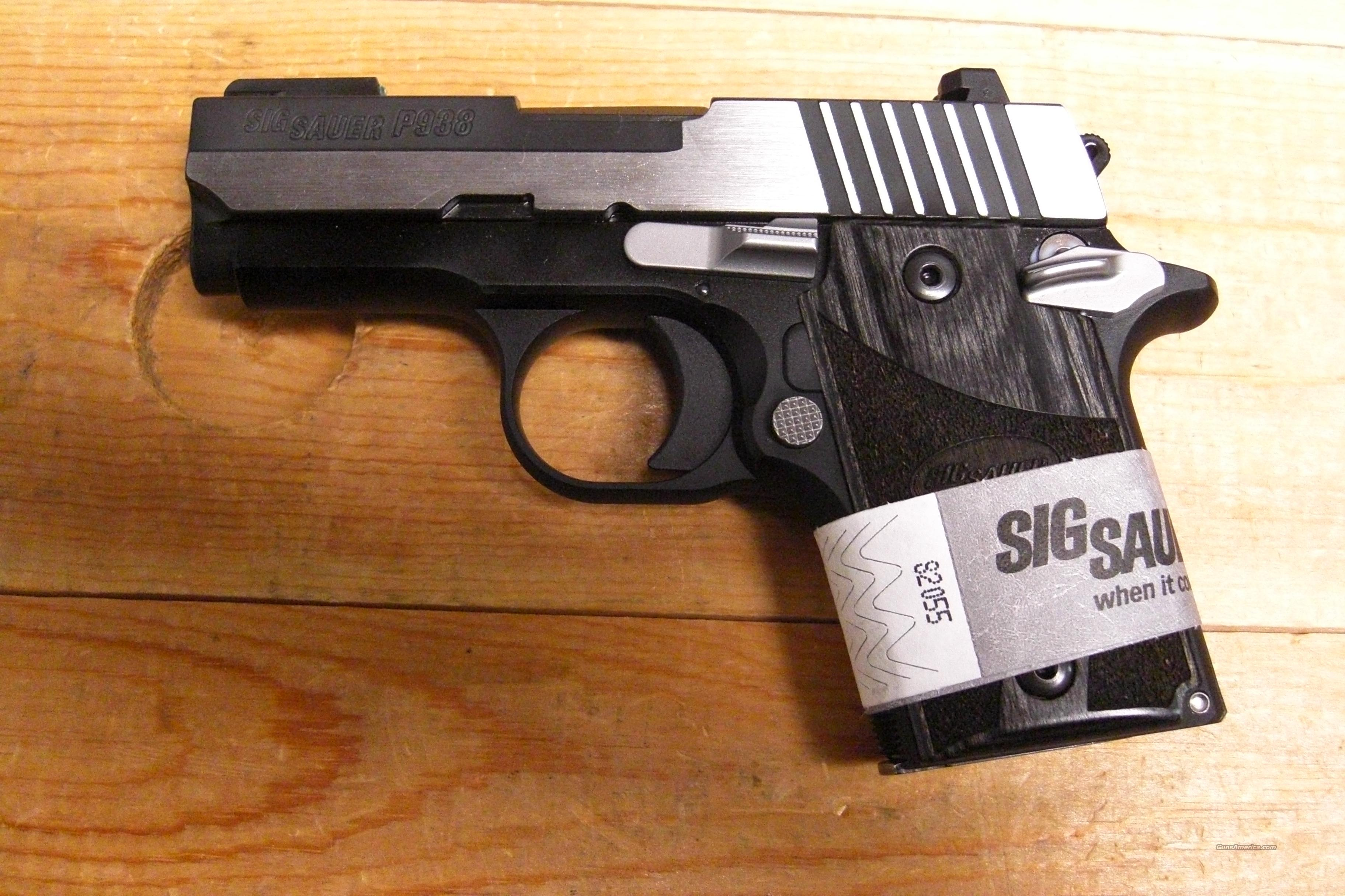 P938 Equinox w/night sights  Guns > Pistols > Sig - Sauer/Sigarms Pistols > Other