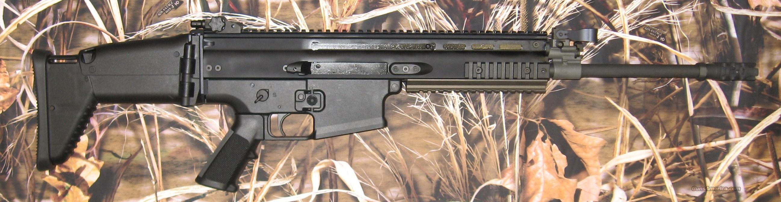 FNH Scar 17S .308 Black   Guns > Rifles > FNH - Fabrique Nationale (FN) Rifles > Semi-auto > Other