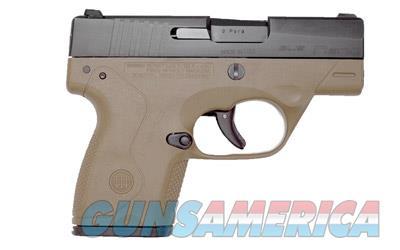 Beretta BU9 Nano w/FDE Frame  Guns > Pistols > Beretta Pistols > Polymer Frame