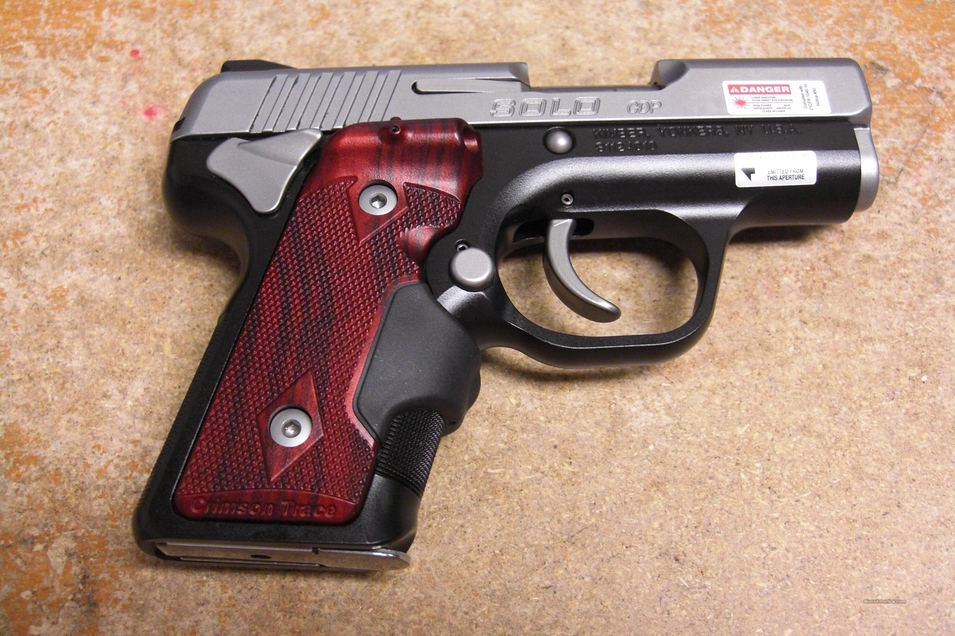 Solo CDP w/Laser Grips, night sights  Guns > Pistols > Kimber of America Pistols