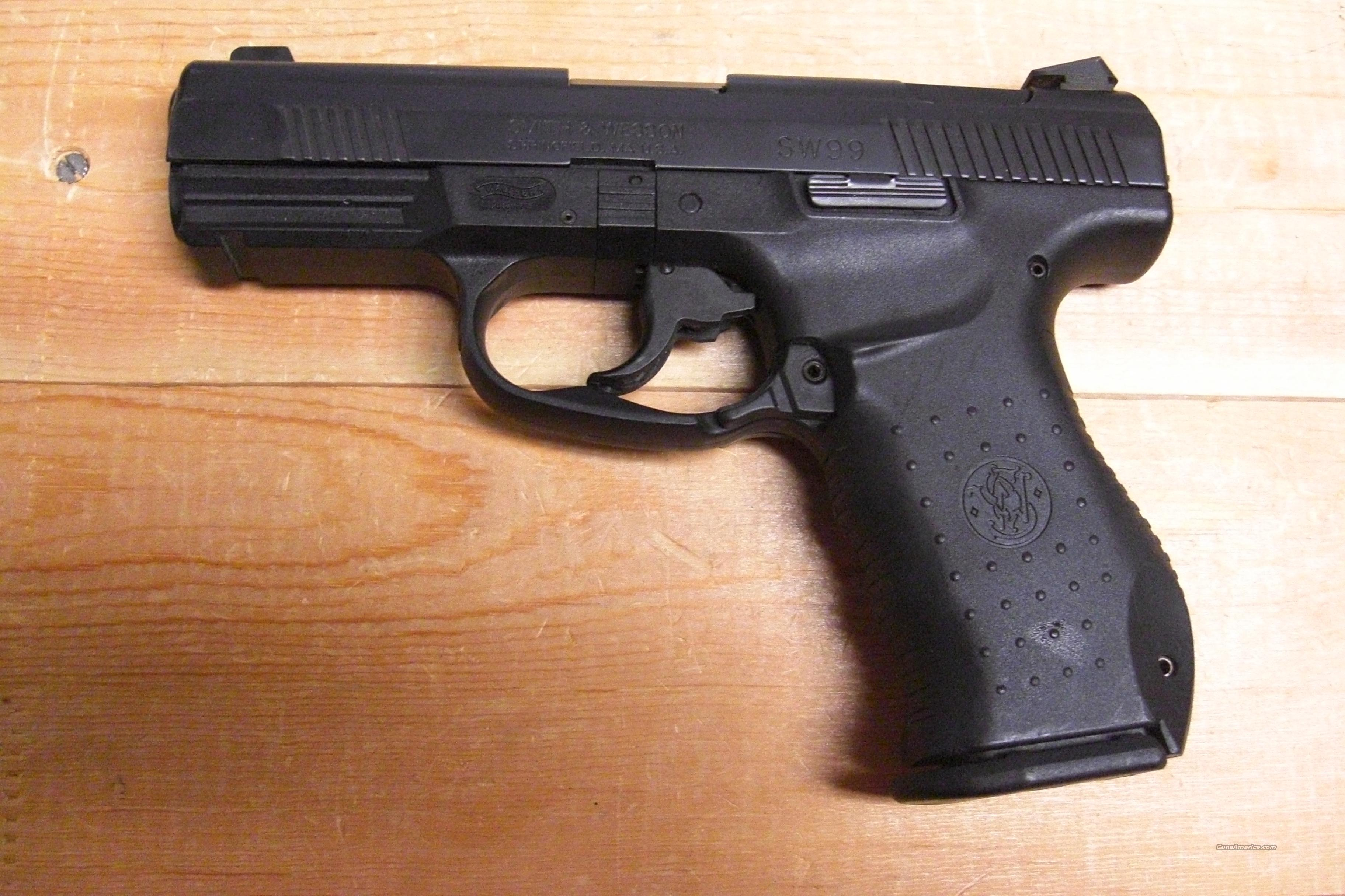 99 w/night sights  Guns > Pistols > Smith & Wesson Pistols - Autos > Polymer Frame