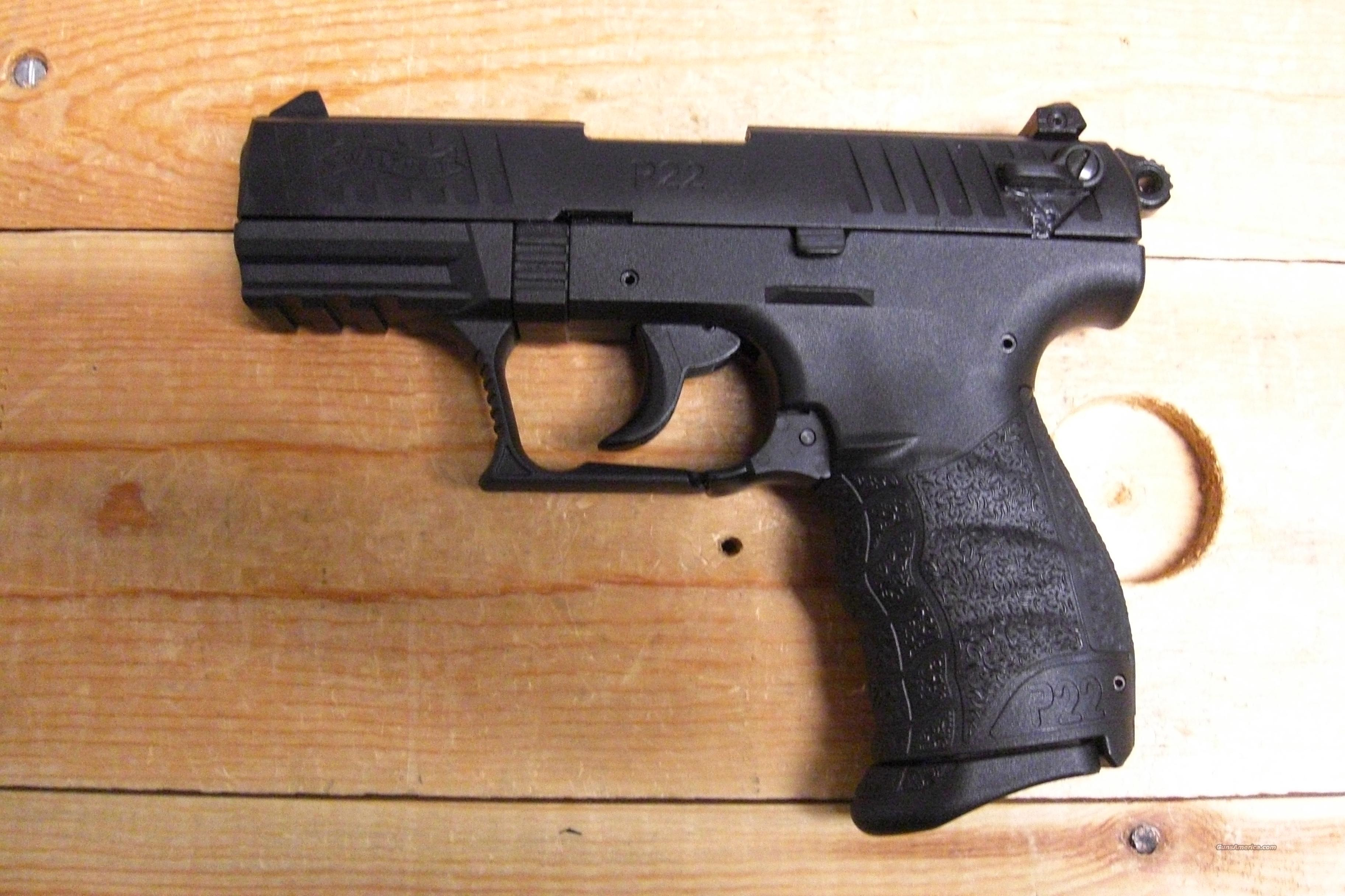 P-22 all black  Guns > Pistols > Walther Pistols > Post WWII > Target Pistols