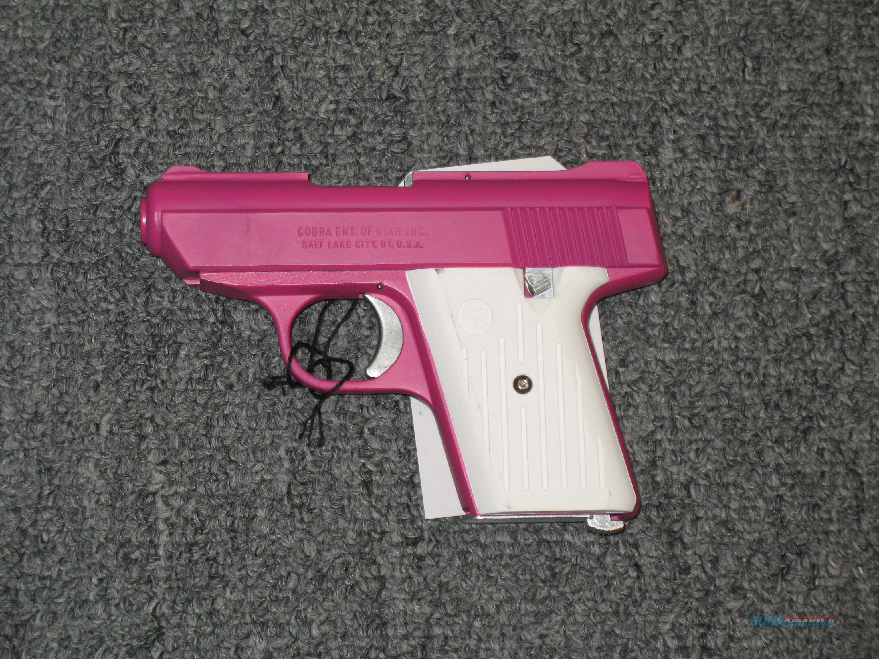 CA380 .380acp pink with white grips  Guns > Pistols > Cobra Derringers