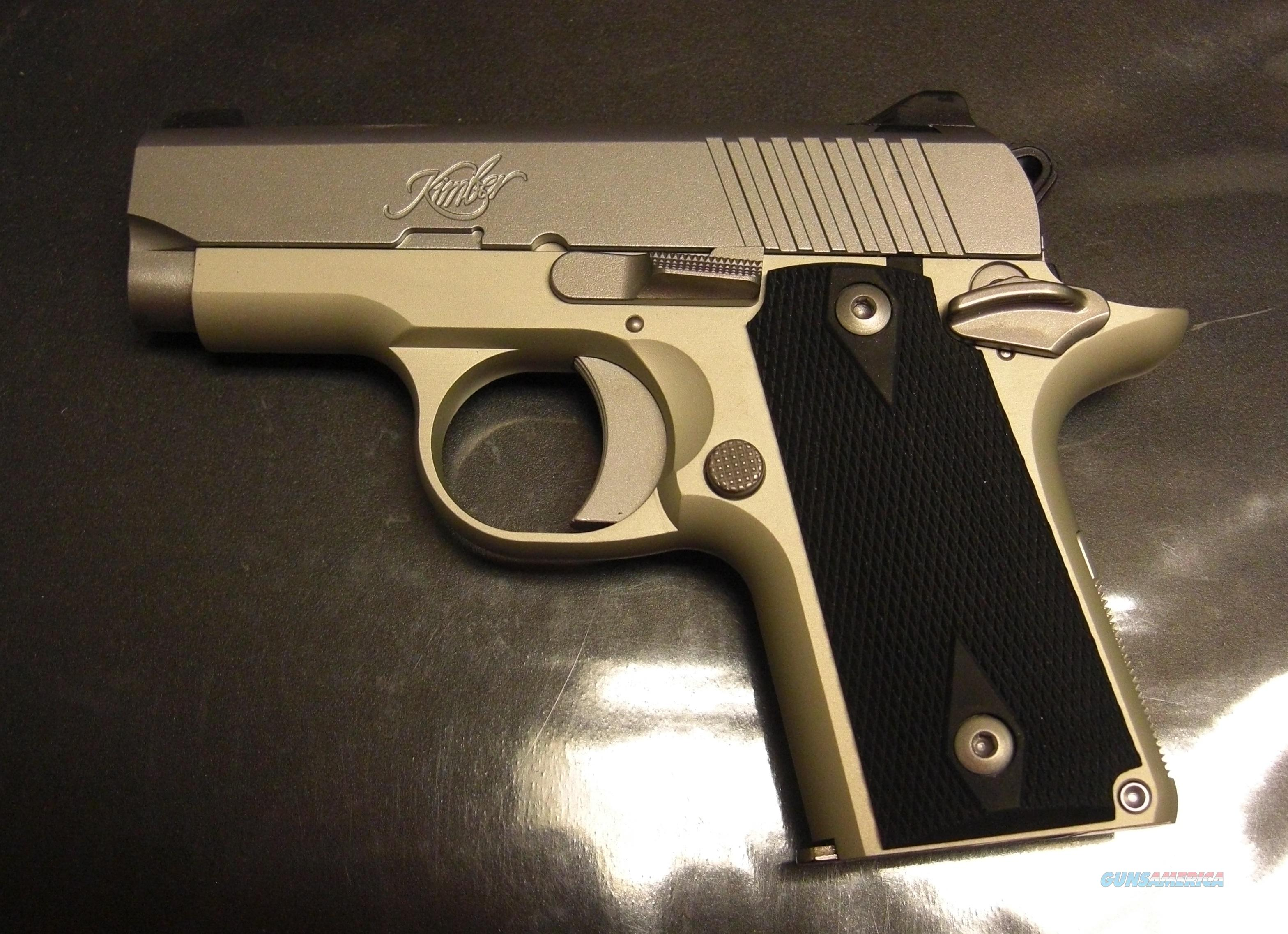 Micro Carry STS  Guns > Pistols > Kimber of America Pistols