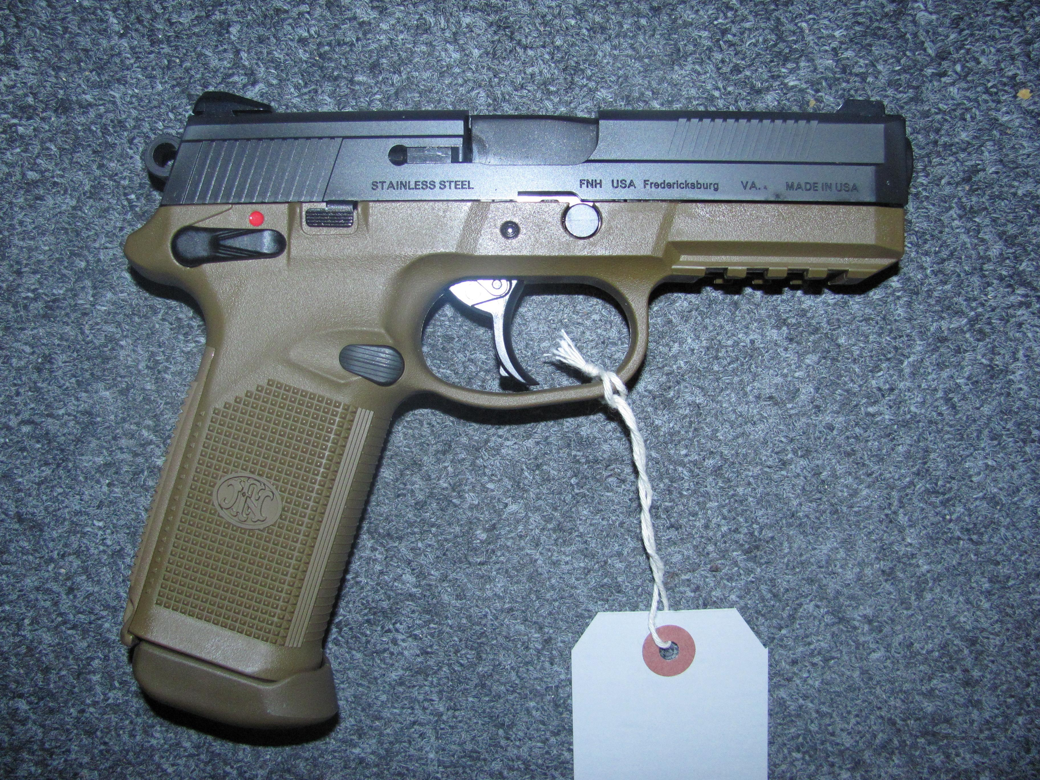 FNX-45 w/3 15 rd mags  Guns > Pistols > FNH - Fabrique Nationale (FN) Pistols > FNP
