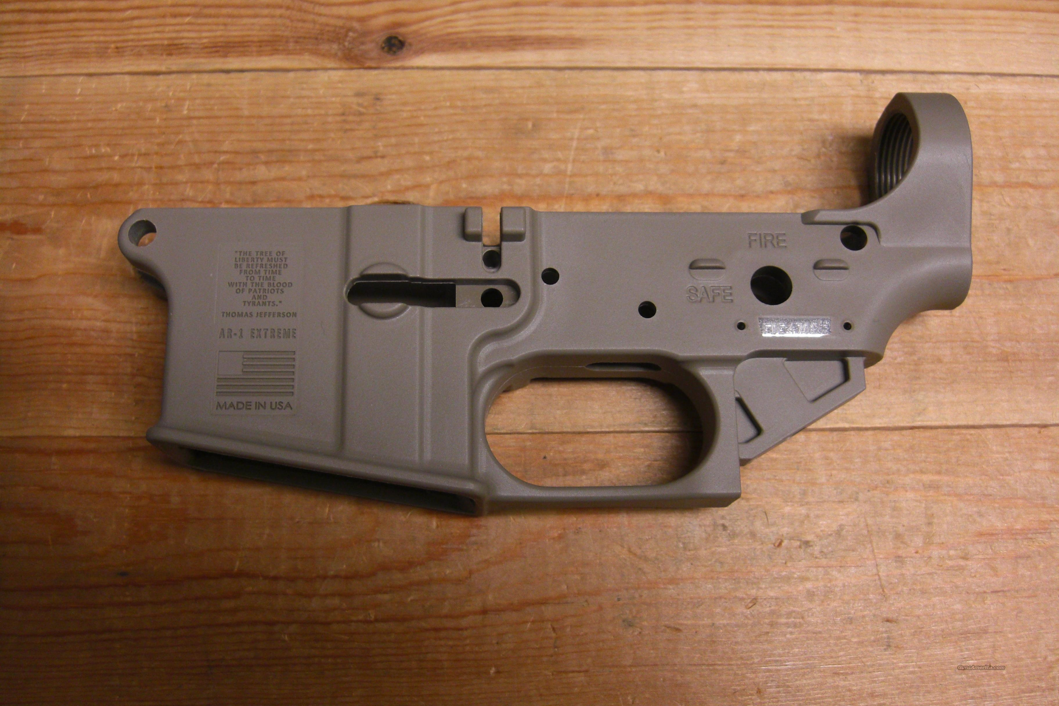 FMK AR-1 Extreme lower  w/lifetime warranty  Guns > Rifles > AR-15 Rifles - Small Manufacturers > Lower Only