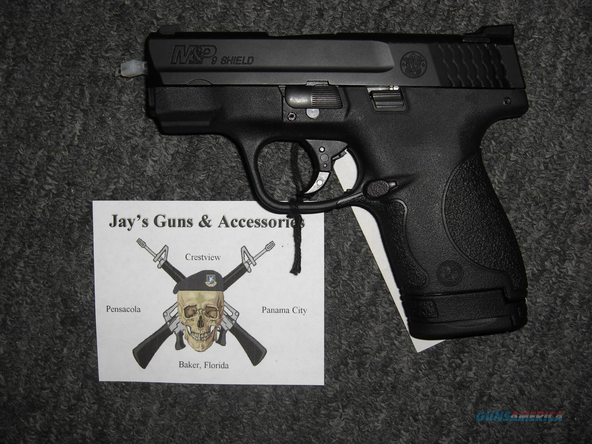 Smith & Wesson M&P9 Shield (10086) w/Night Sights  Guns > Pistols > Smith & Wesson Pistols - Autos > Shield
