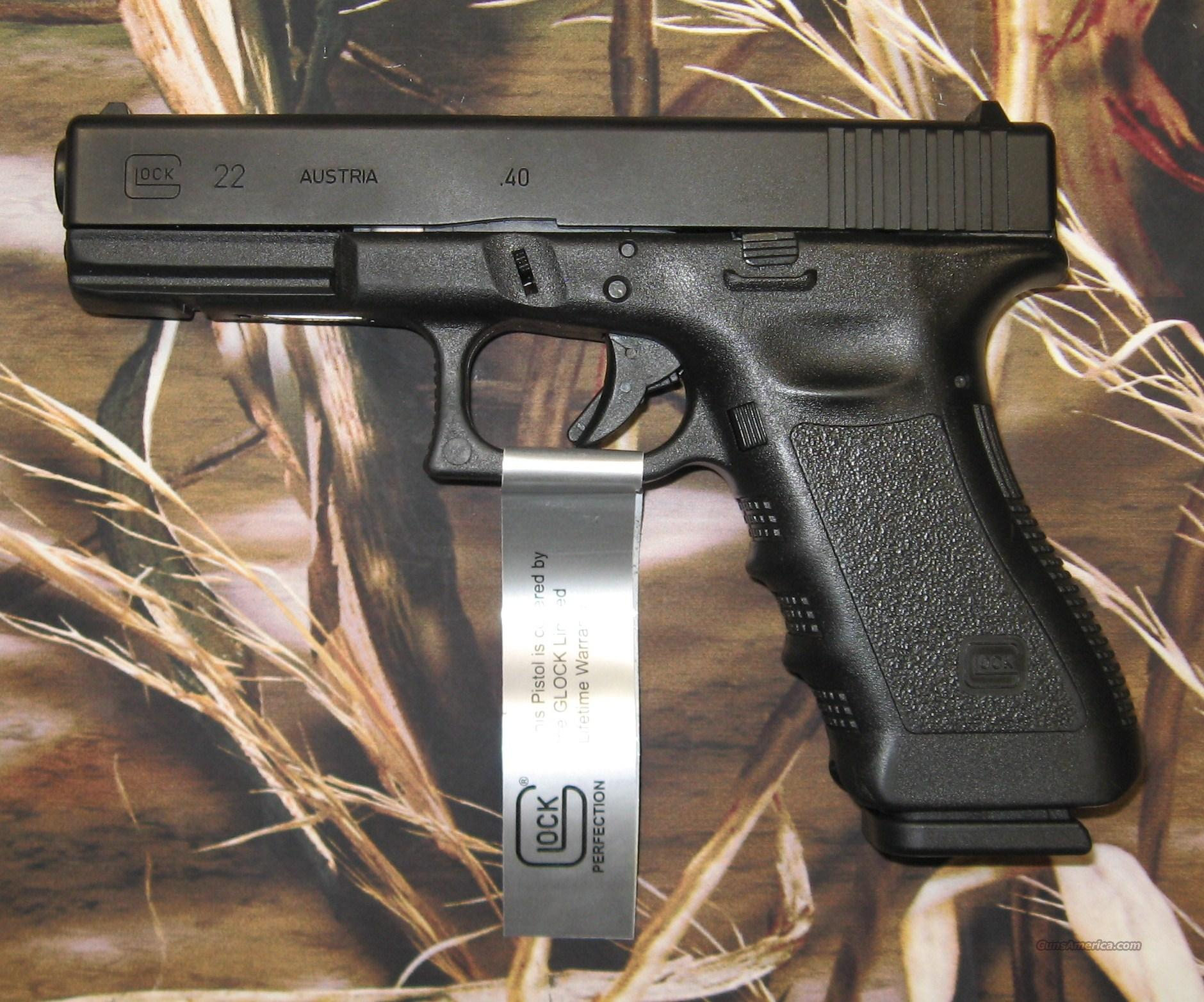 Glock 22 Factory Reconditioned   Guns > Pistols > Glock Pistols > 22