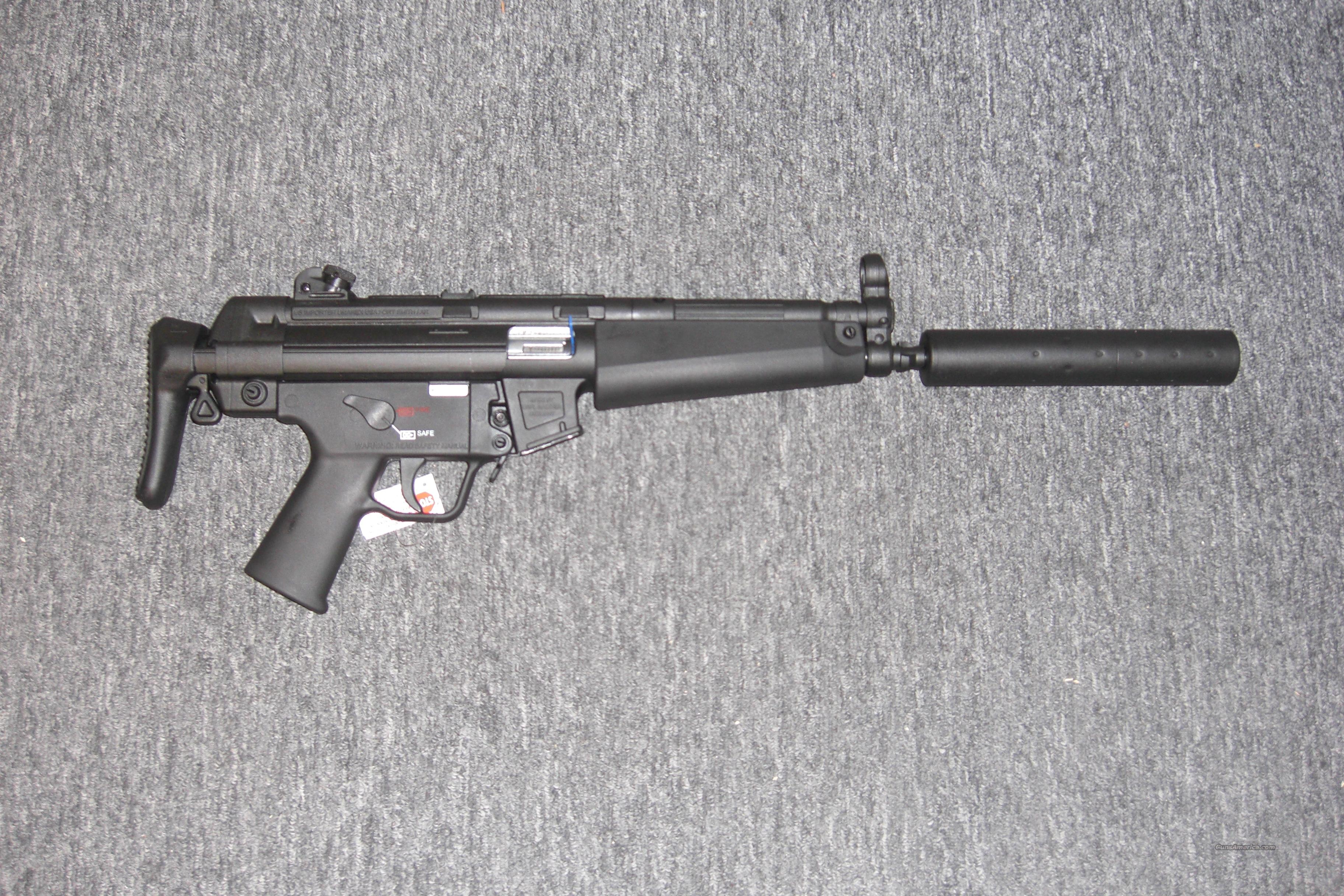 MP5 A5  w/collapsible stock  Guns > Rifles > Heckler & Koch Rifles > Tactical