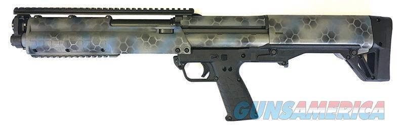 Kel-Tec KSG (KSG-KAOS) w/B/HEX KAOS TriCoat Cerakote Finish  Guns > Shotguns > Kel-Tec Shotguns > KSG