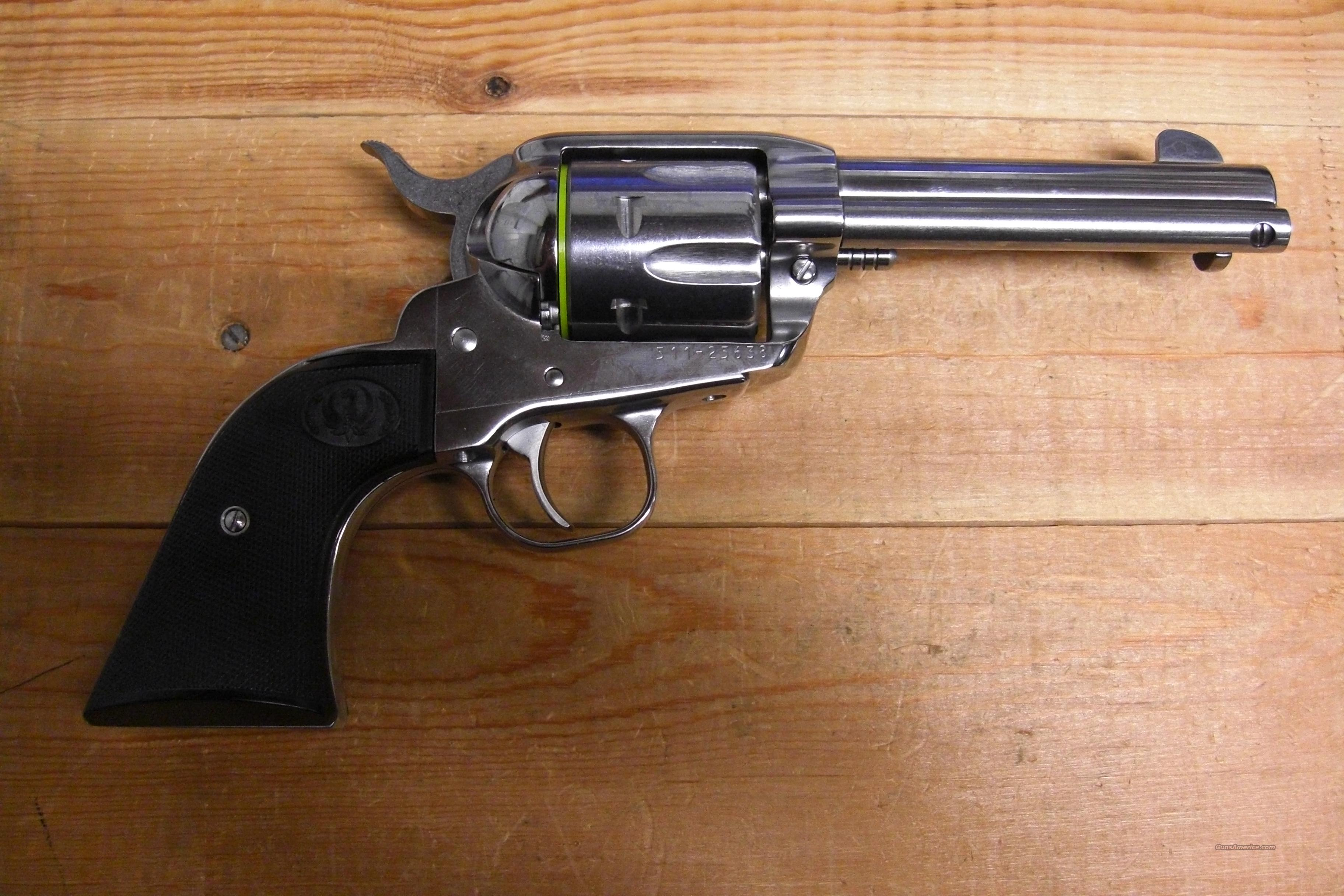 New Vaquero  w/stainless finish  Guns > Pistols > Ruger Single Action Revolvers > Cowboy Action