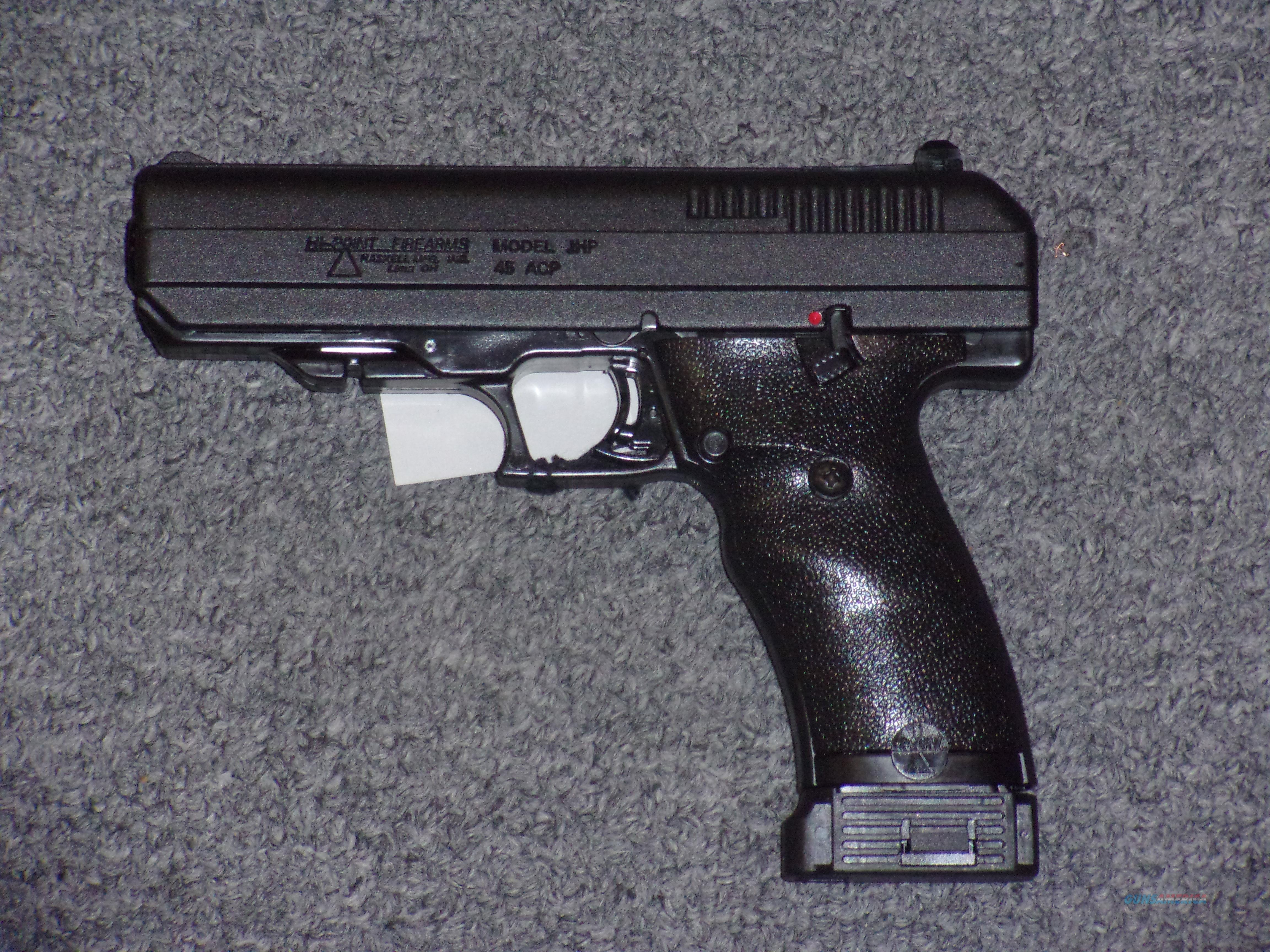 Hi-Point Firearms JHP .45acp  Guns > Pistols > Hi Point Pistols