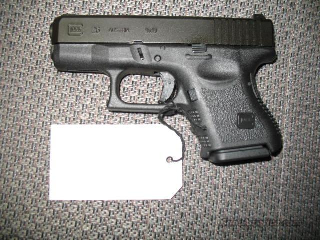 26 (subcompact 9mm, with night sights)  Guns > Pistols > Glock Pistols > 26/27