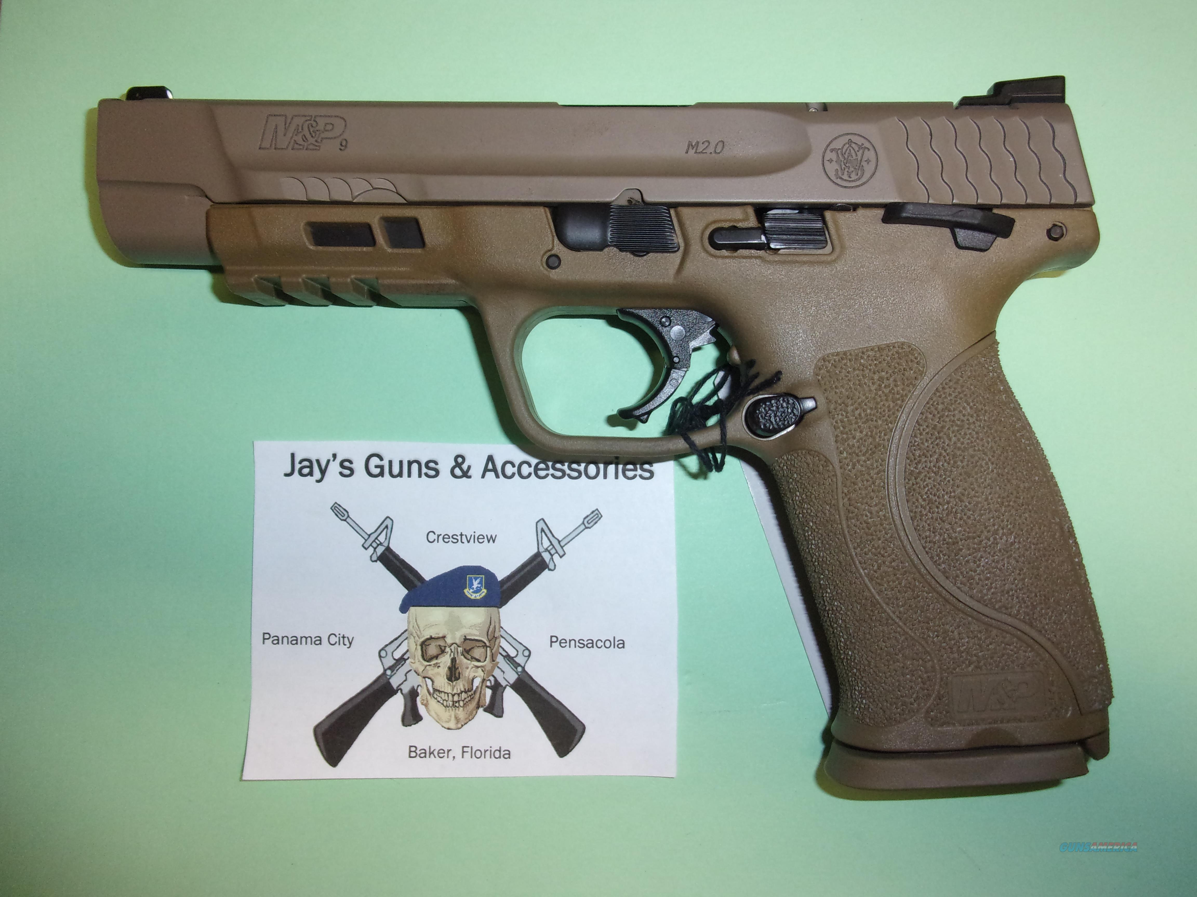 Smith & Wesson M&P9 M2.0 (11537) w/Long Slide  Guns > Pistols > Smith & Wesson Pistols - Autos > Polymer Frame