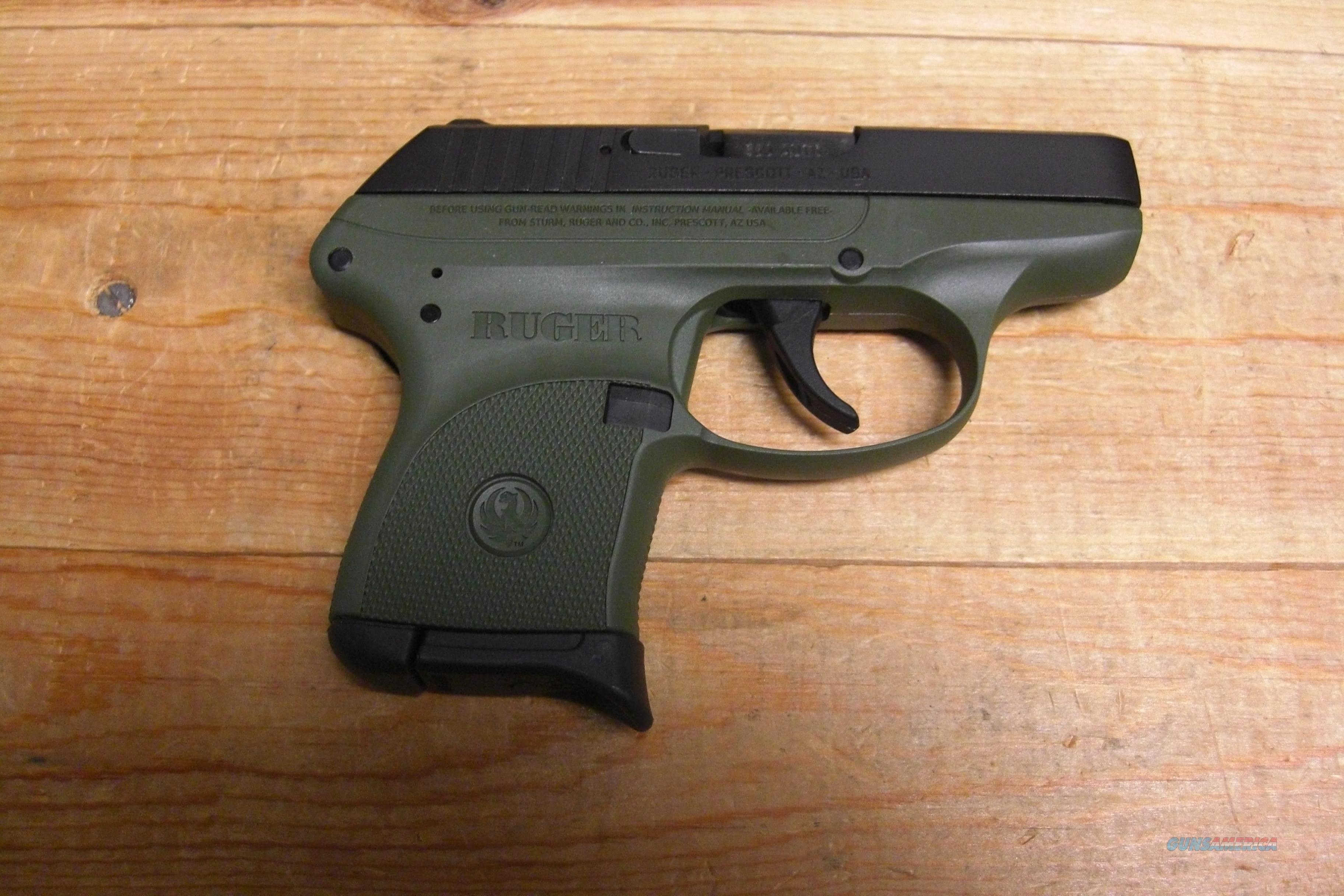 LCP w/OD green frame  Guns > Pistols > Ruger Semi-Auto Pistols > LCP