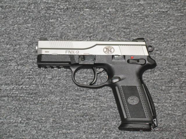 FNX-9 (Two Tone .9mm)  Guns > Pistols > FNH - Fabrique Nationale (FN) Pistols > FNP