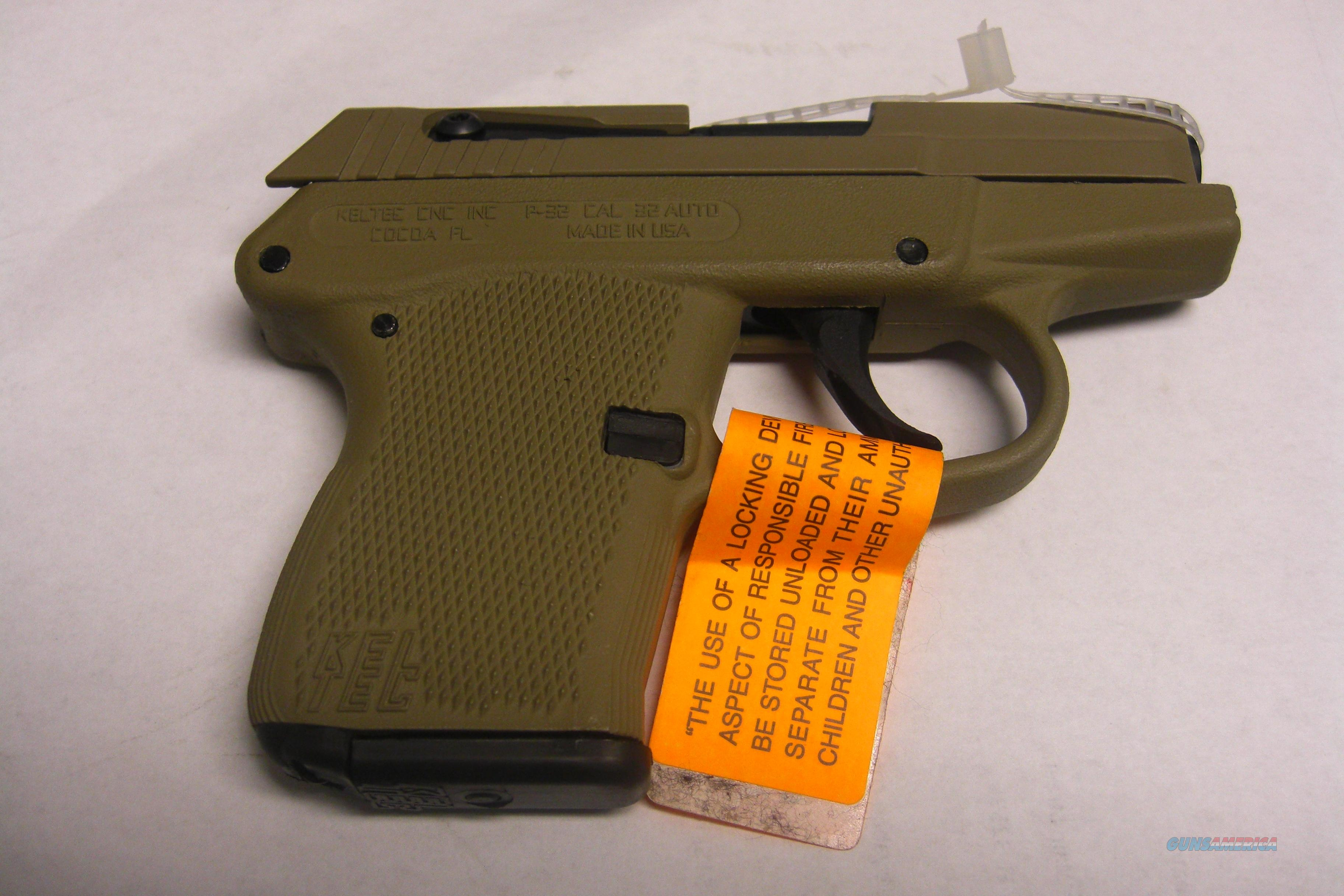 P-32  w/overall tan finish  Guns > Pistols > Kel-Tec Pistols > Pocket Pistol Type