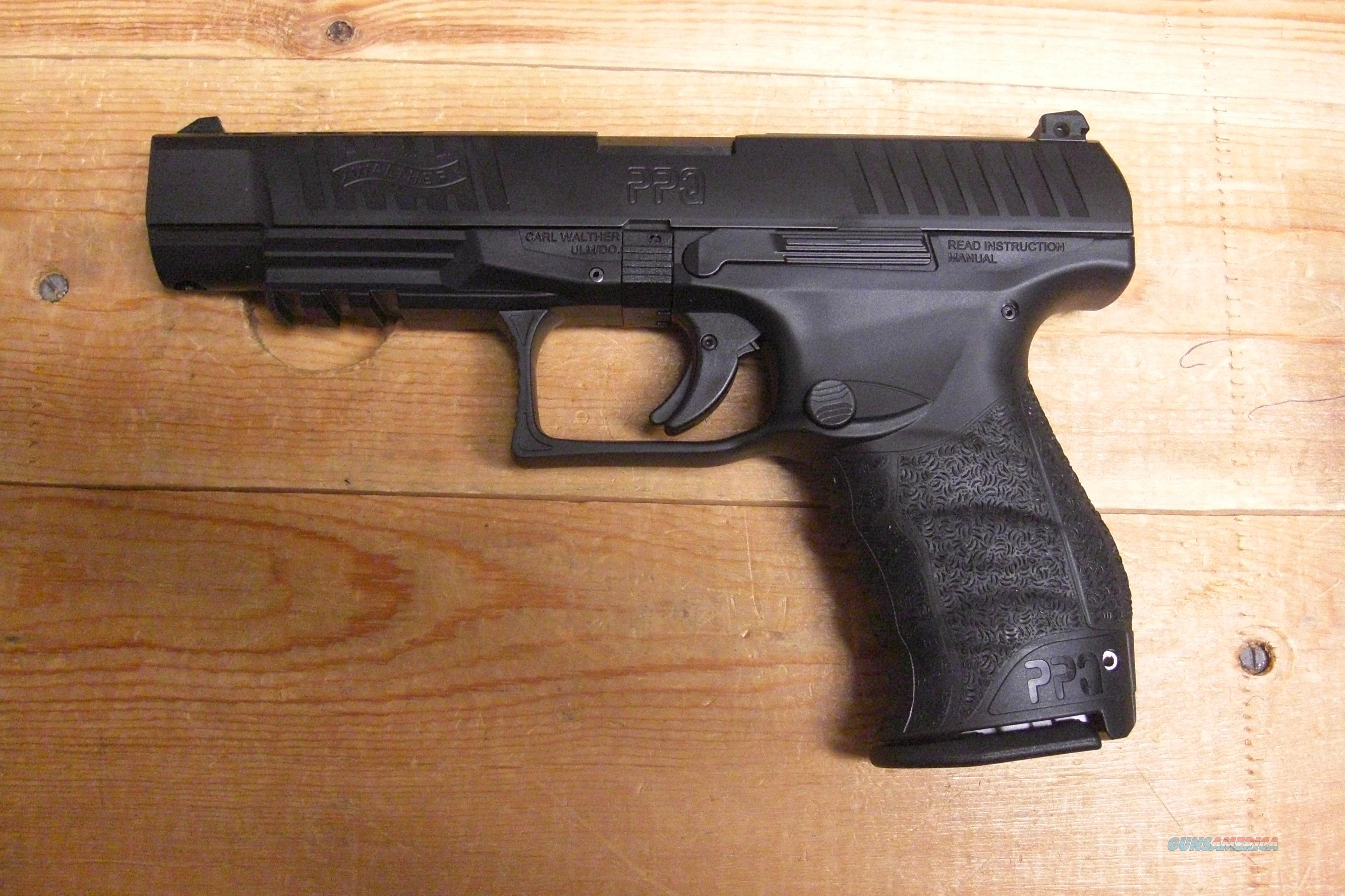 "Walther PPQ M2 5"" bbl w/2 15 rd mags.  Guns > Pistols > Walther Pistols > Post WWII > PPK Series"