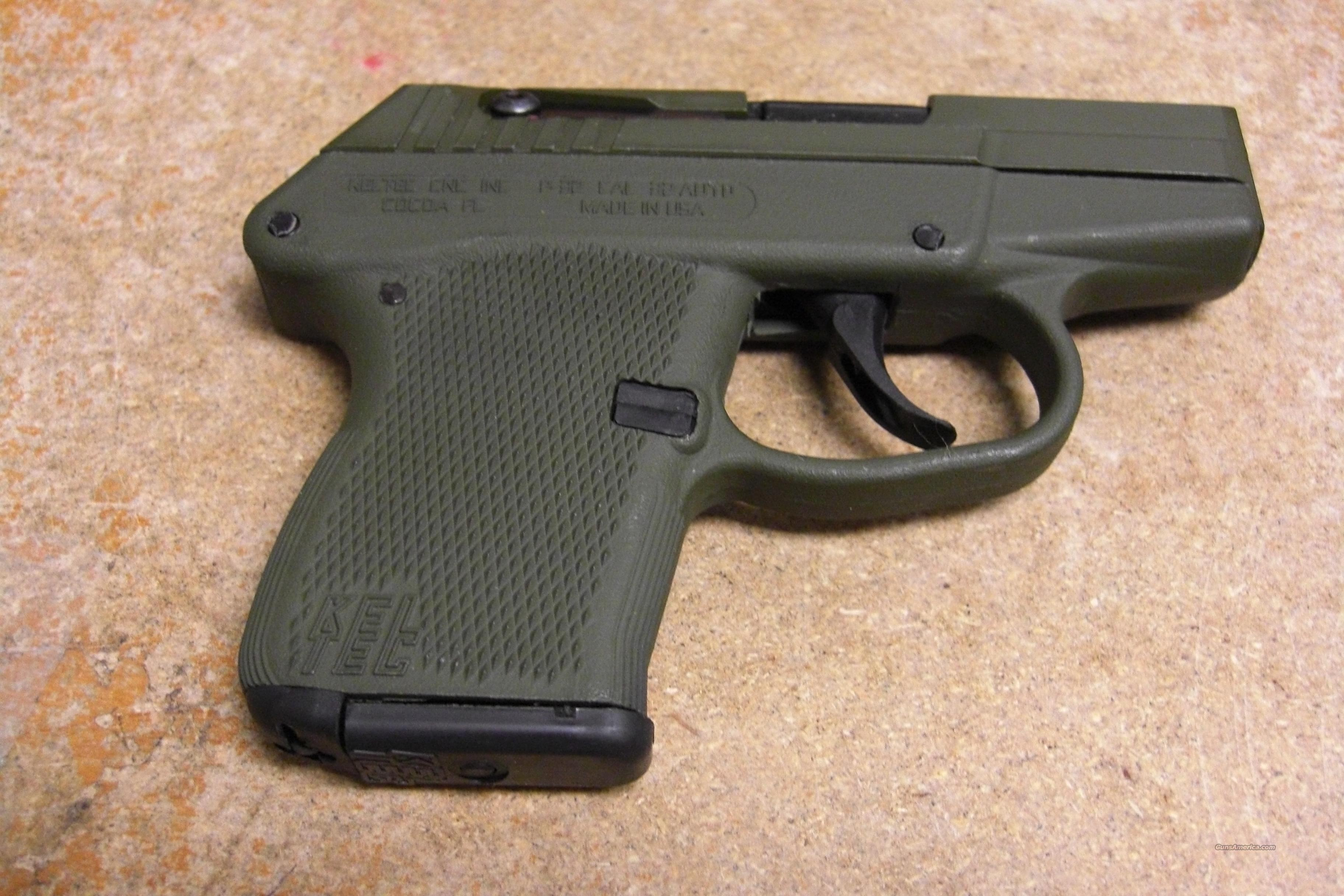 P-32 w/overall OD green finish  Guns > Pistols > Kel-Tec Pistols > Pocket Pistol Type