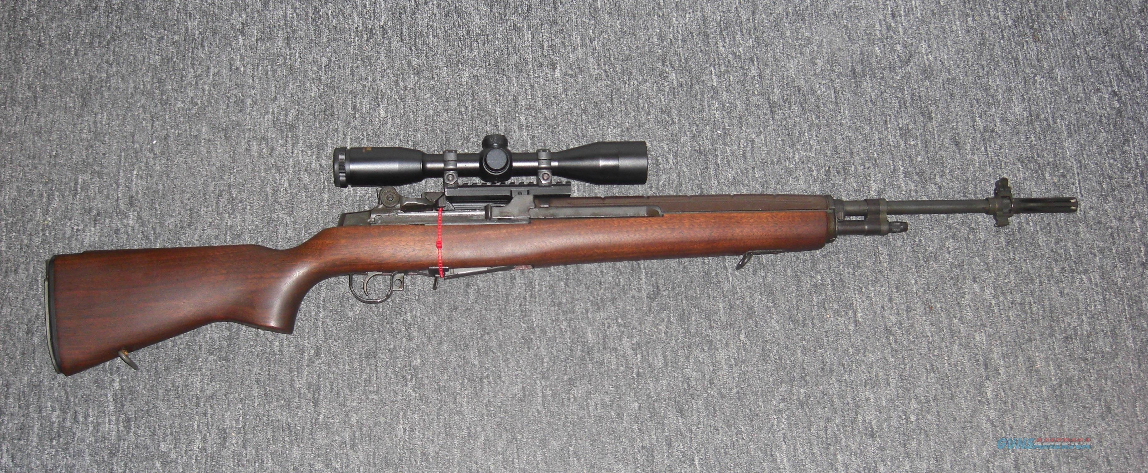 M1a Super Match W Spring Arm 6x40 Government For Sale
