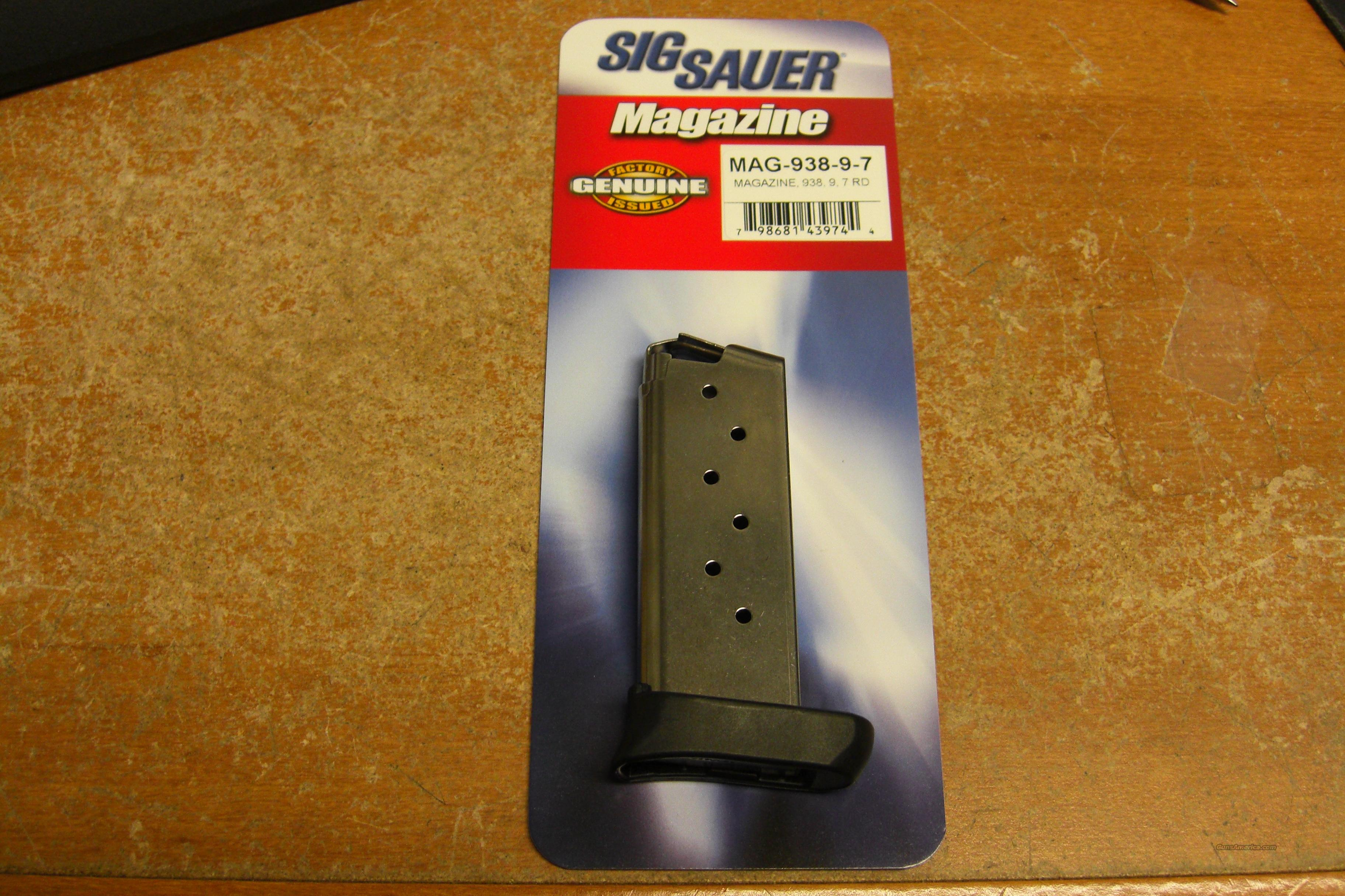 P938 9mm magazine  Non-Guns > Magazines & Clips > Pistol Magazines > Sig