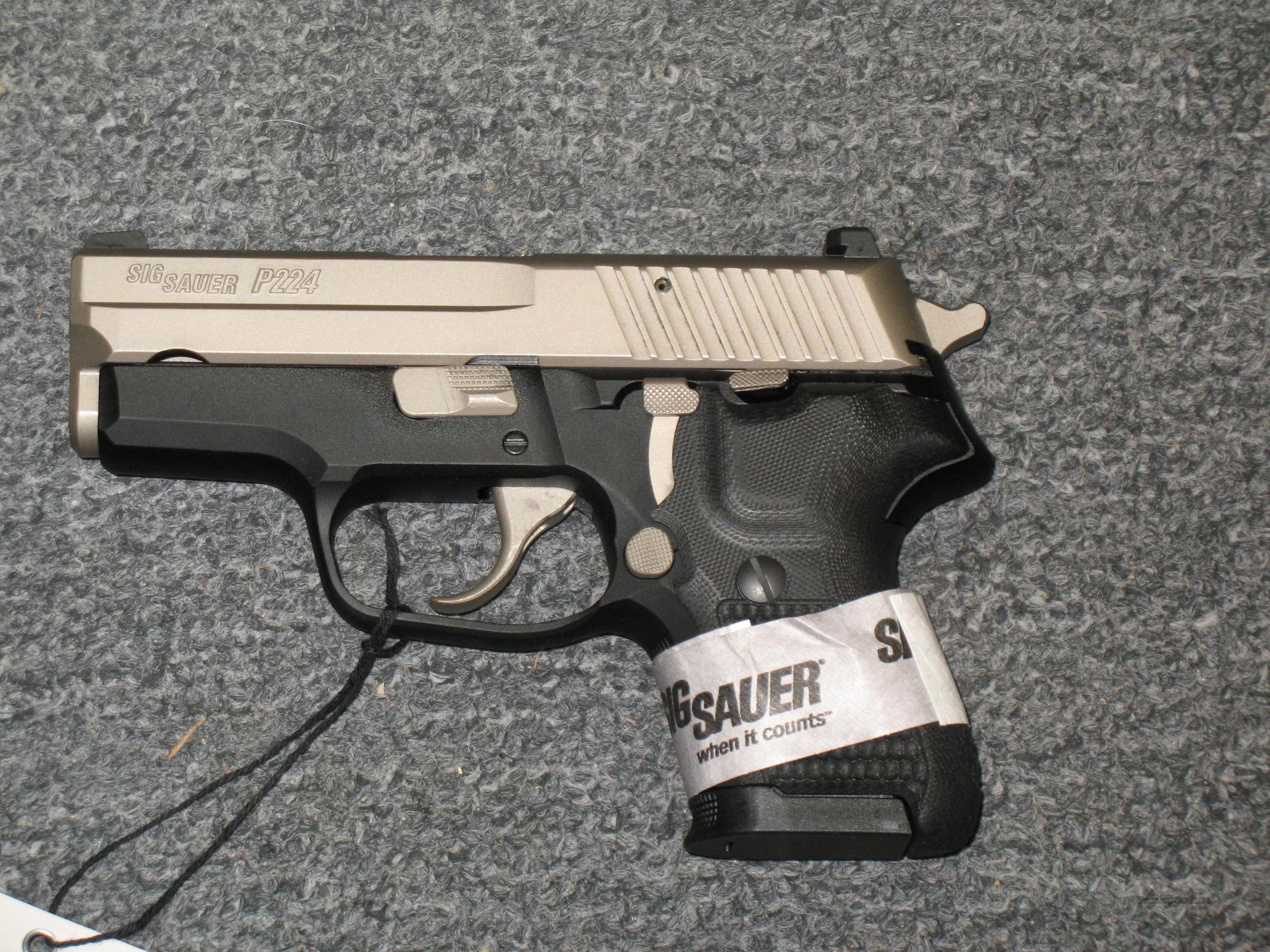Sig Sauer P224  Guns > Pistols > Sig - Sauer/Sigarms Pistols > Other