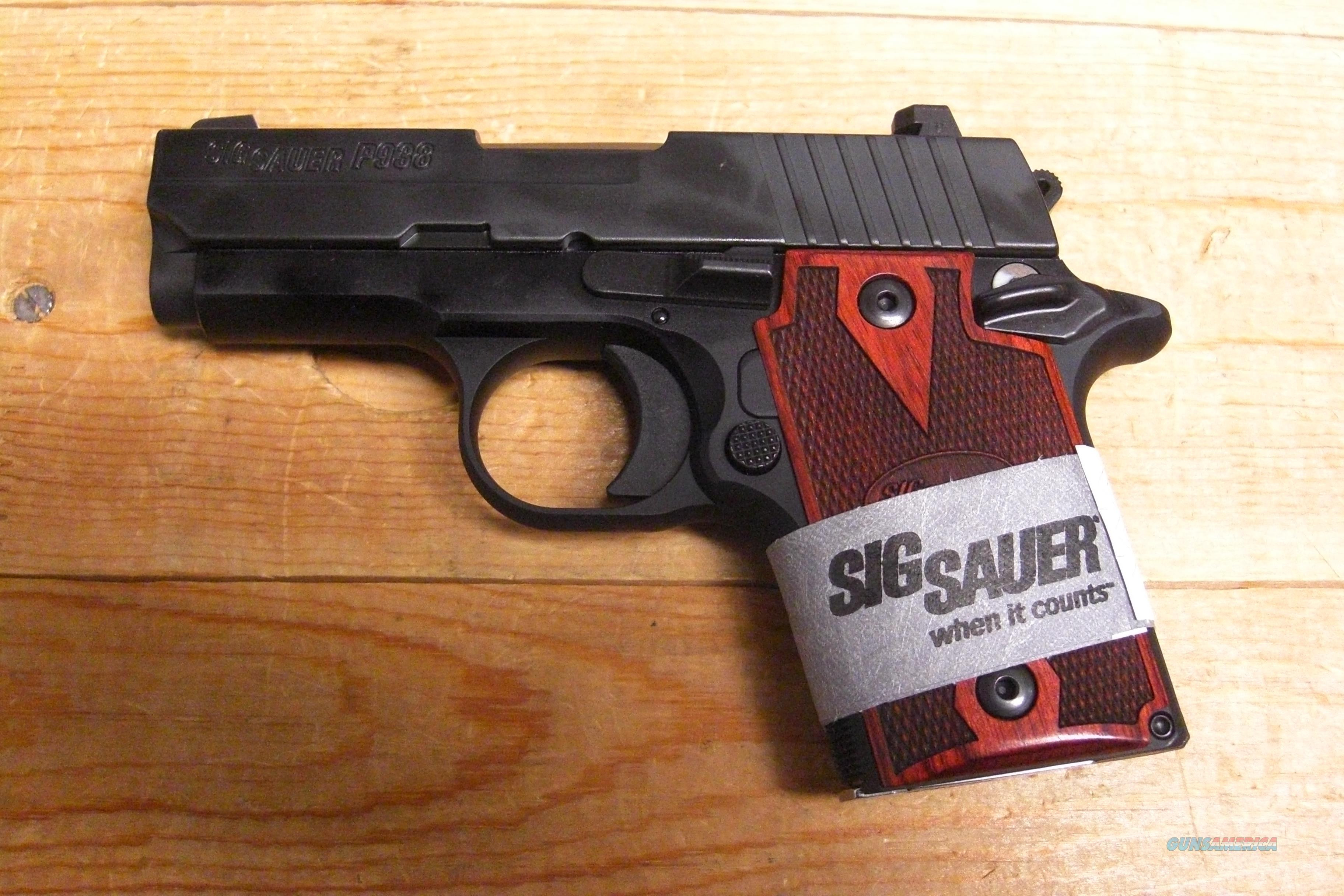 P938 w/night sights, ambi-safety  Guns > Pistols > Sig - Sauer/Sigarms Pistols > Other