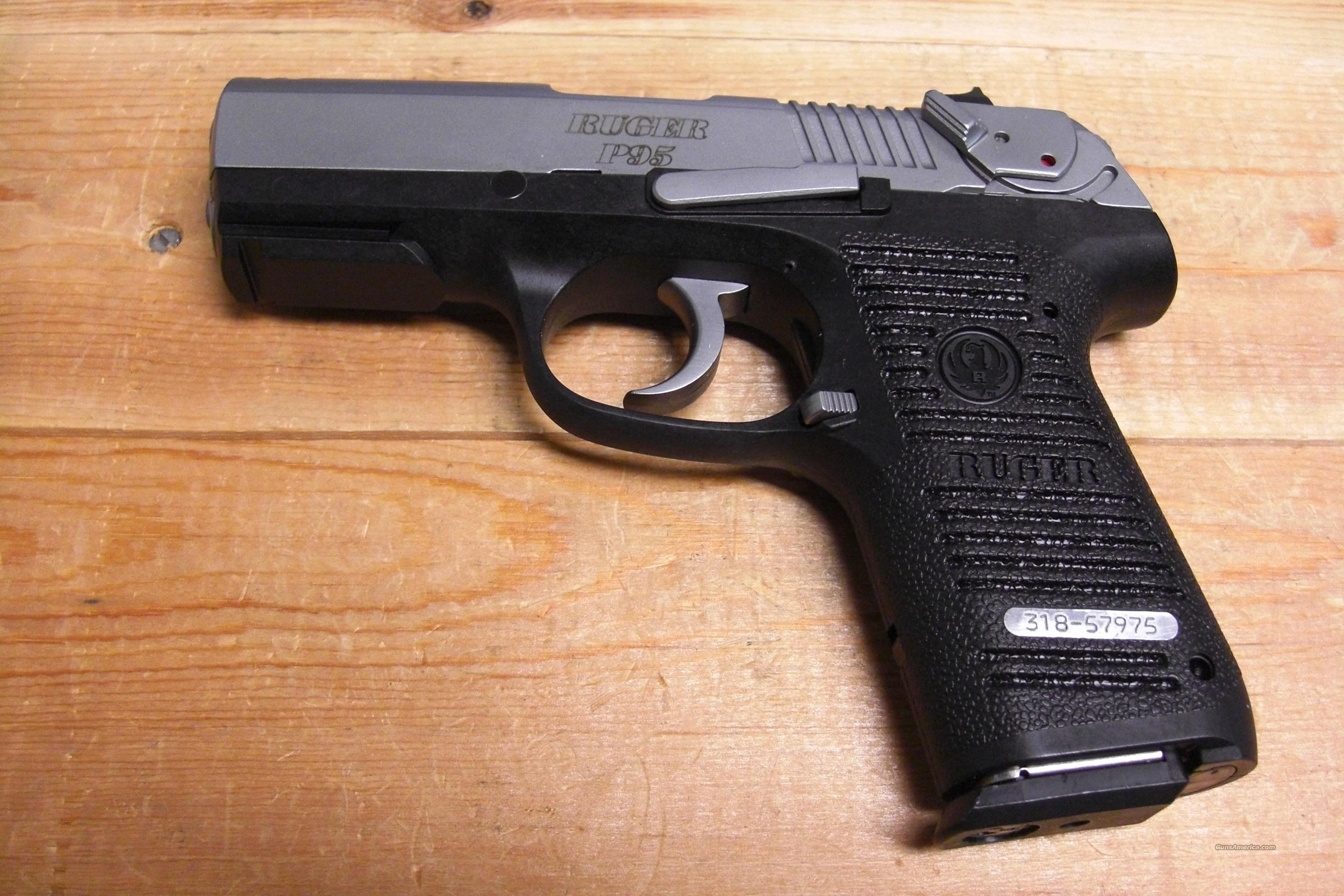 P95 w/stainless slide  Guns > Pistols > Ruger Semi-Auto Pistols > P-Series