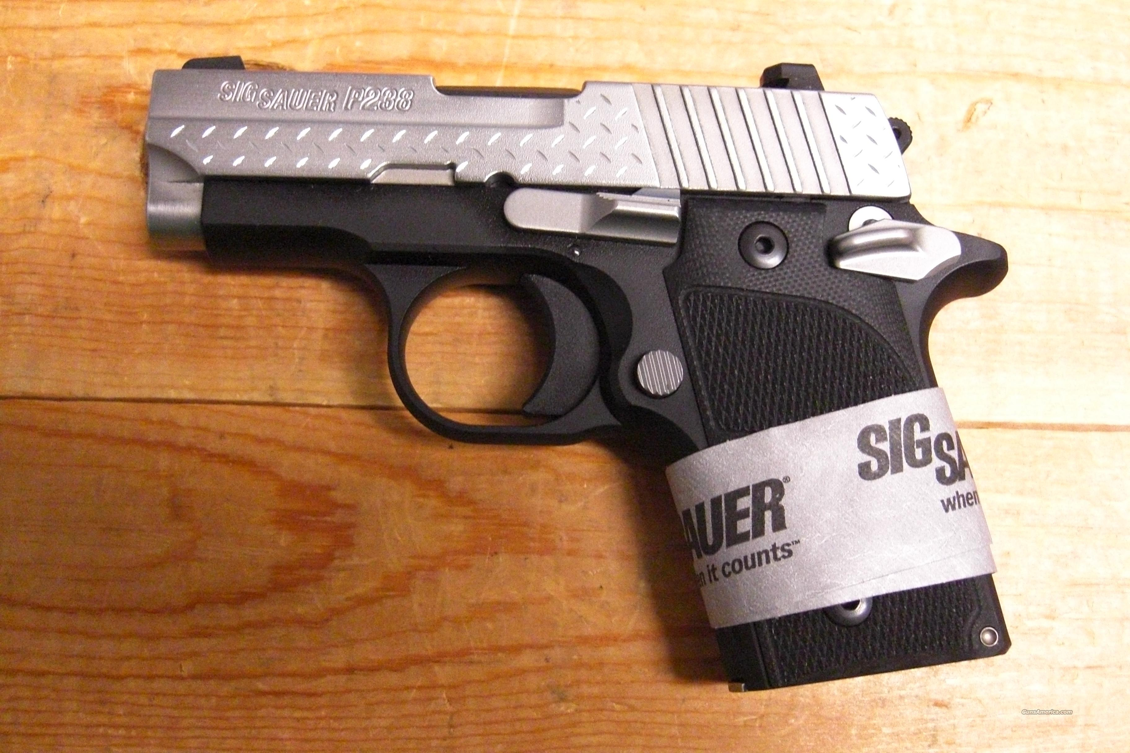 P238  w/Night Sights, stainless slide  Guns > Pistols > Sig - Sauer/Sigarms Pistols > Other