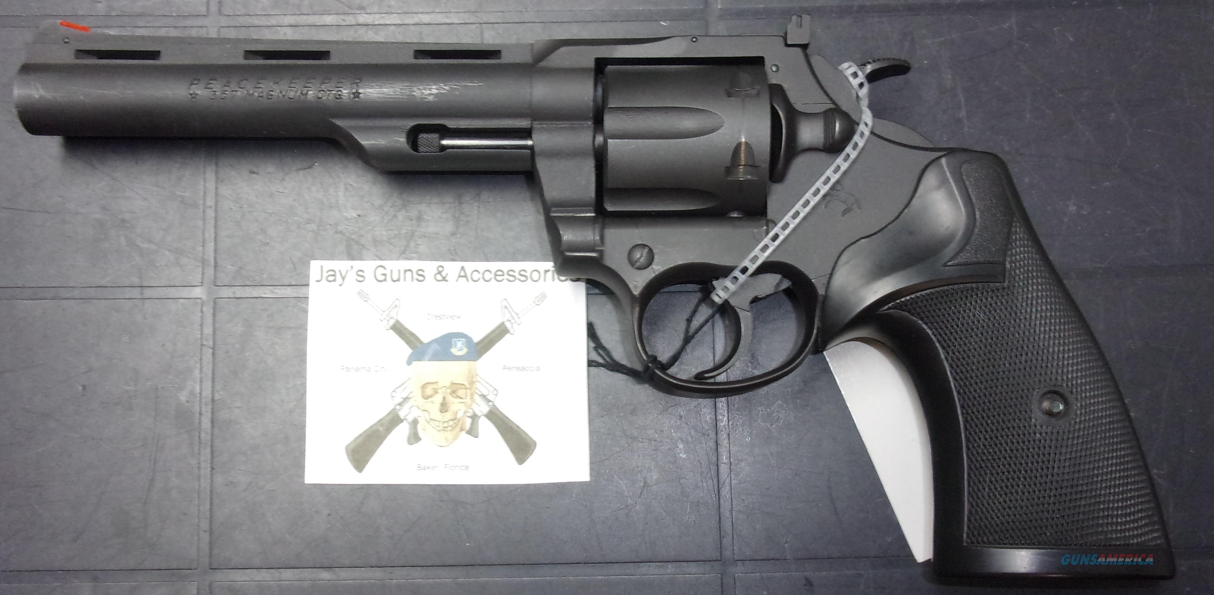 Colt Peacekeeper  Guns > Pistols > Colt Double Action Revolvers- Modern