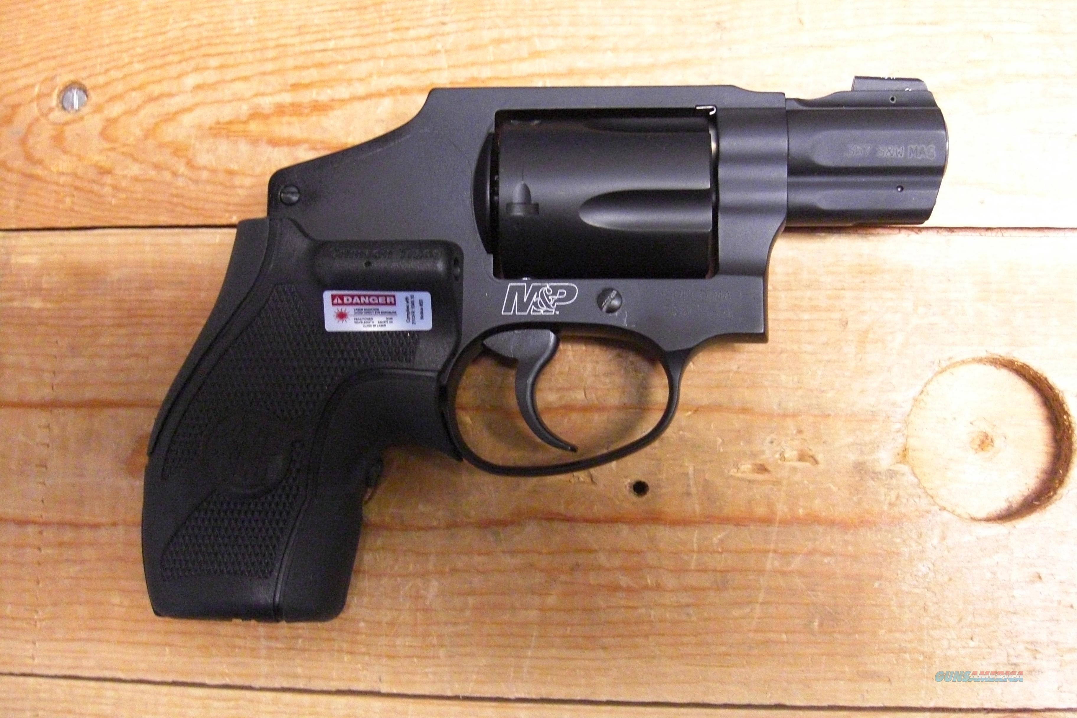 M & P 340  w/laser grip, front night sight  Guns > Pistols > Smith & Wesson Revolvers > Pocket Pistols