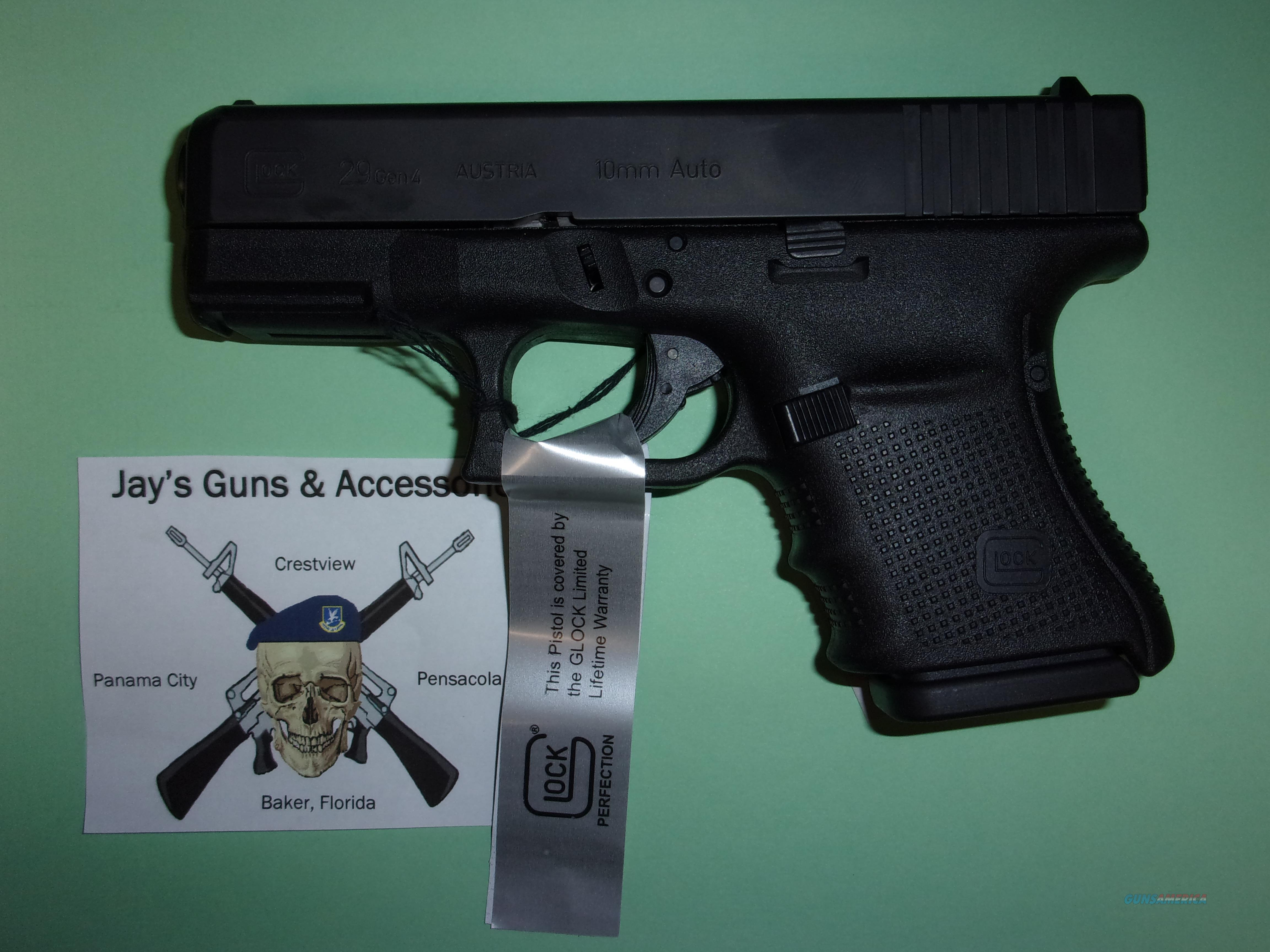 Glock 29 Gen 4 (Factory Reconditioned)  Guns > Pistols > Glock Pistols > 29/30/36