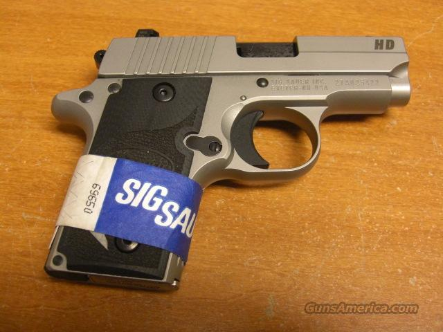 P238 HD  all stainless w/Night Sights  Guns > Pistols > Sig - Sauer/Sigarms Pistols > Other